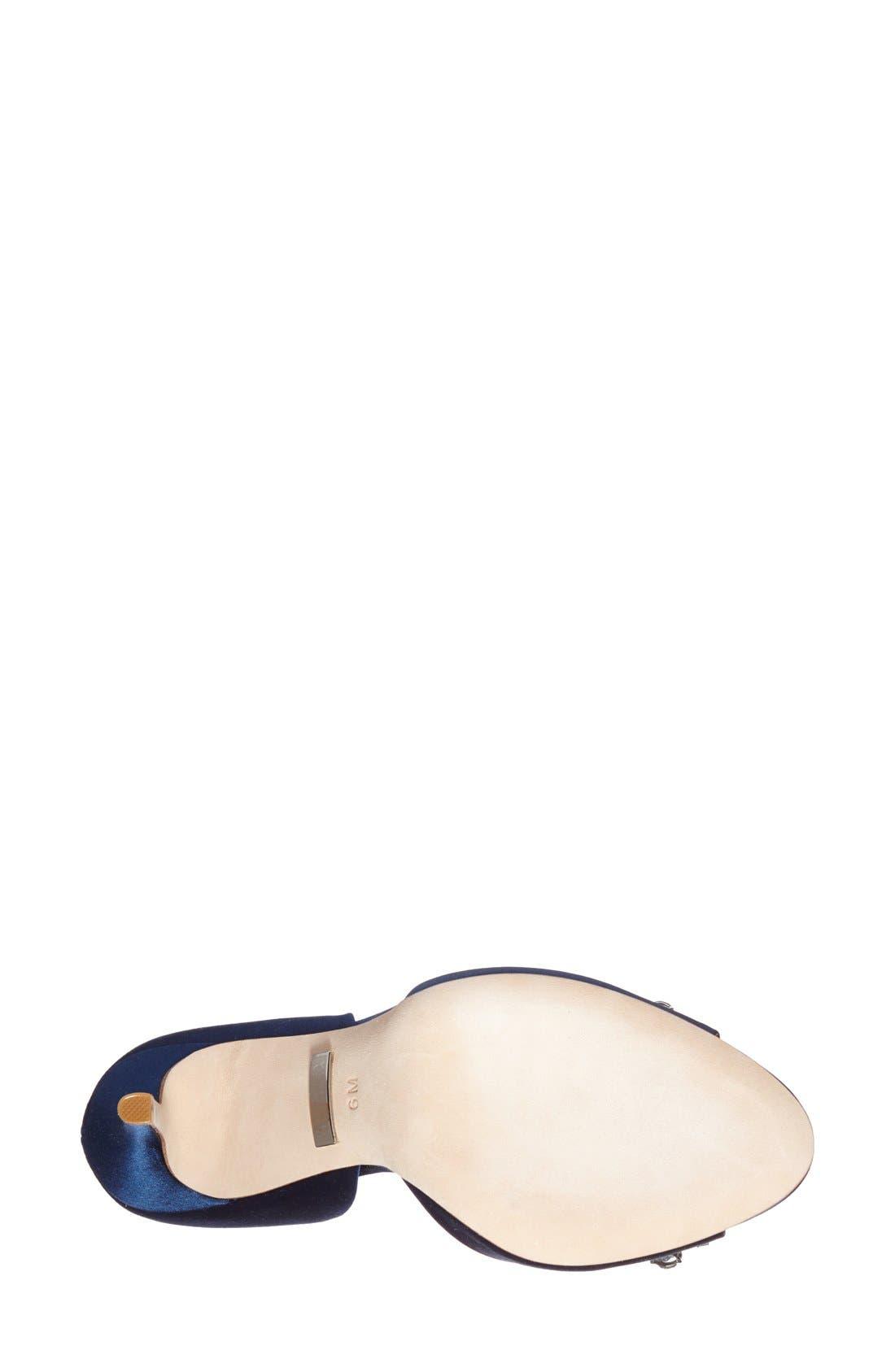 'Giana' Satin d'Orsay Pump,                             Alternate thumbnail 8, color,