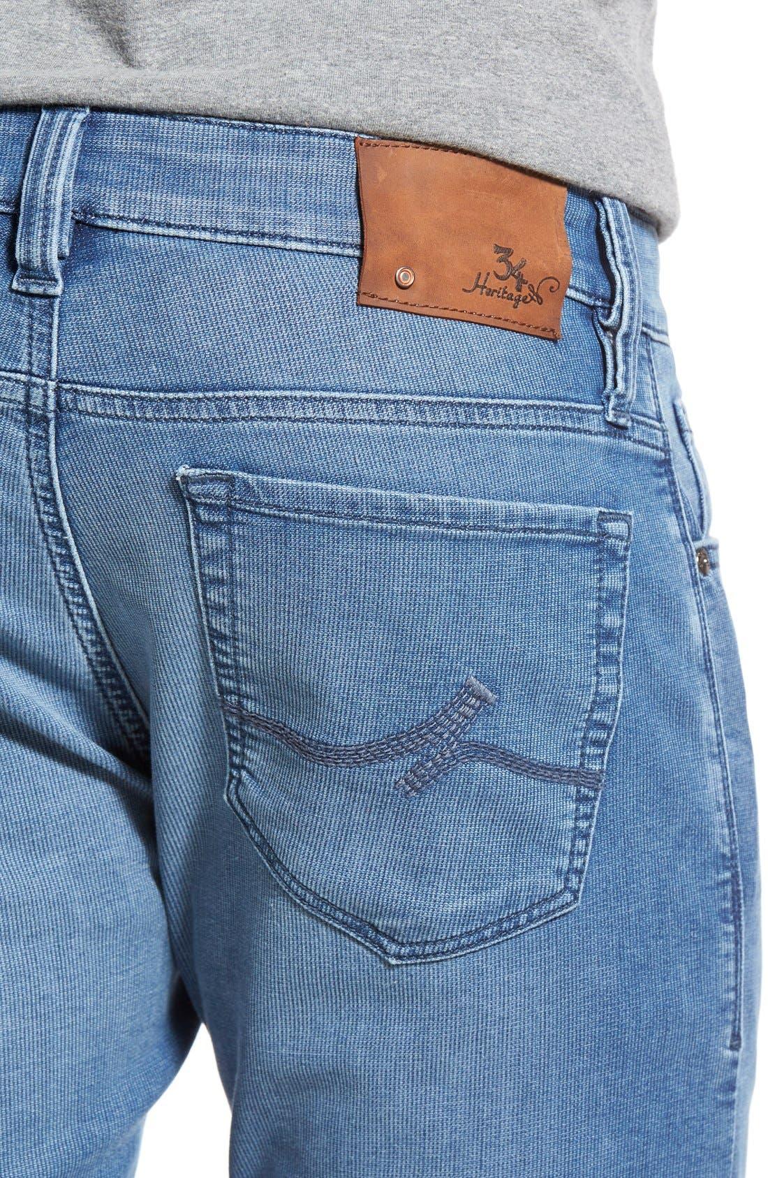 34 HERITAGE,                             'Courage' Straight Leg Jeans,                             Alternate thumbnail 2, color,                             LIGHT INDIGO SPORTY