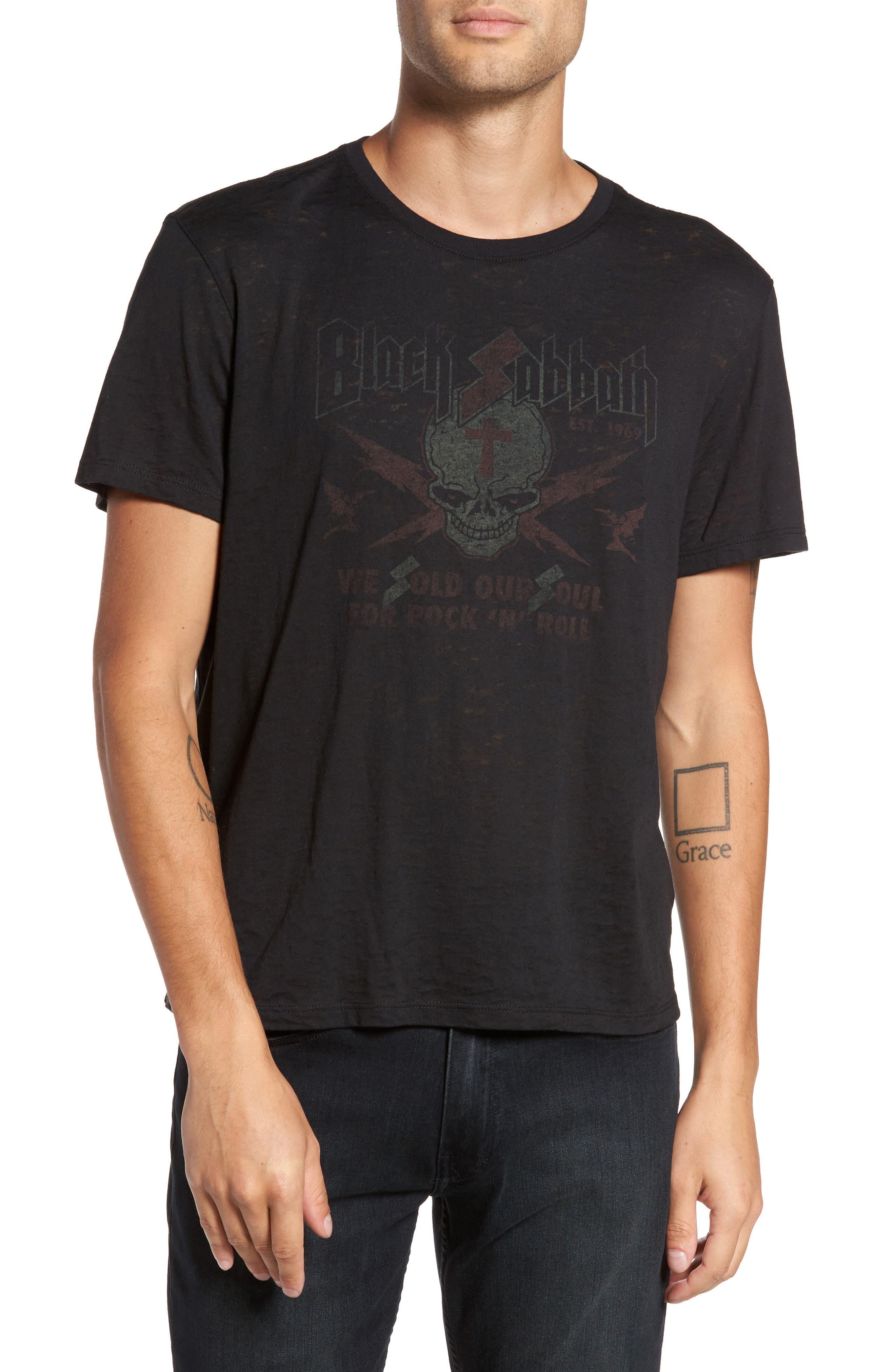 Black Sabbath Graphic T-Shirt,                             Main thumbnail 1, color,