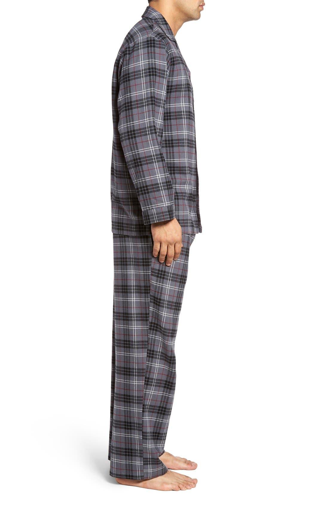 '824' Flannel Pajama Set,                             Alternate thumbnail 89, color,