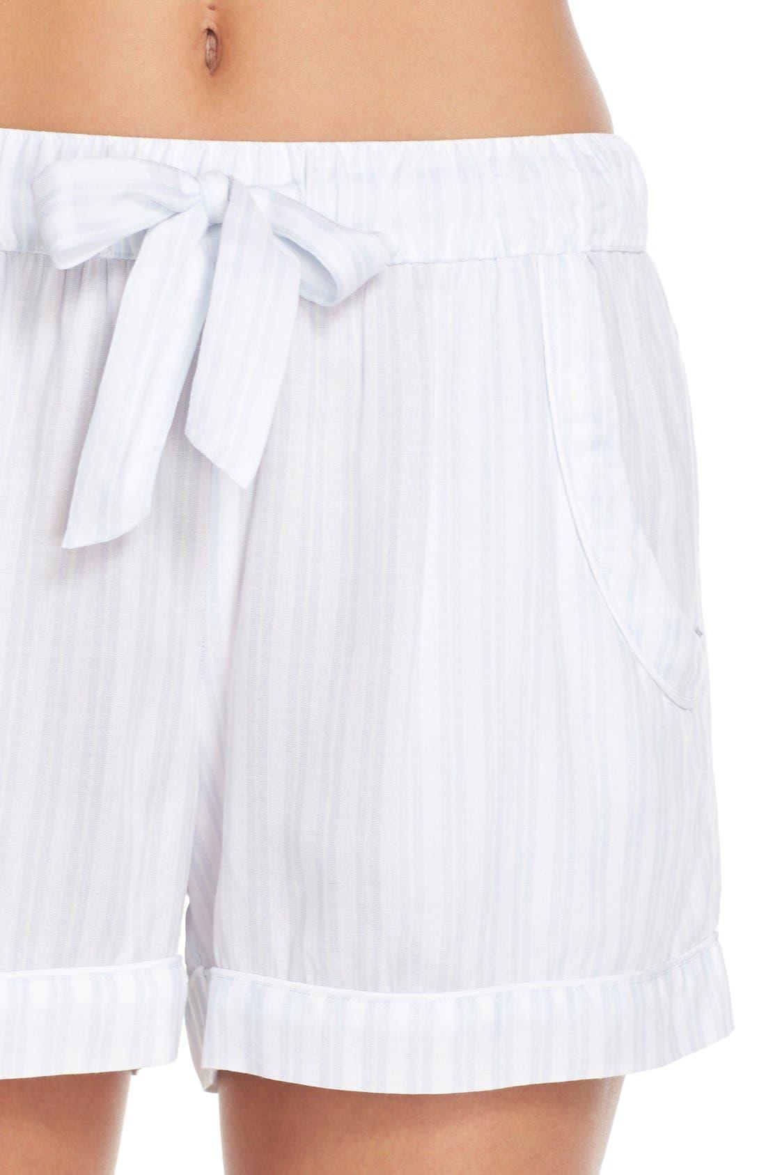 Stripe Short Pajamas,                             Alternate thumbnail 5, color,                             450