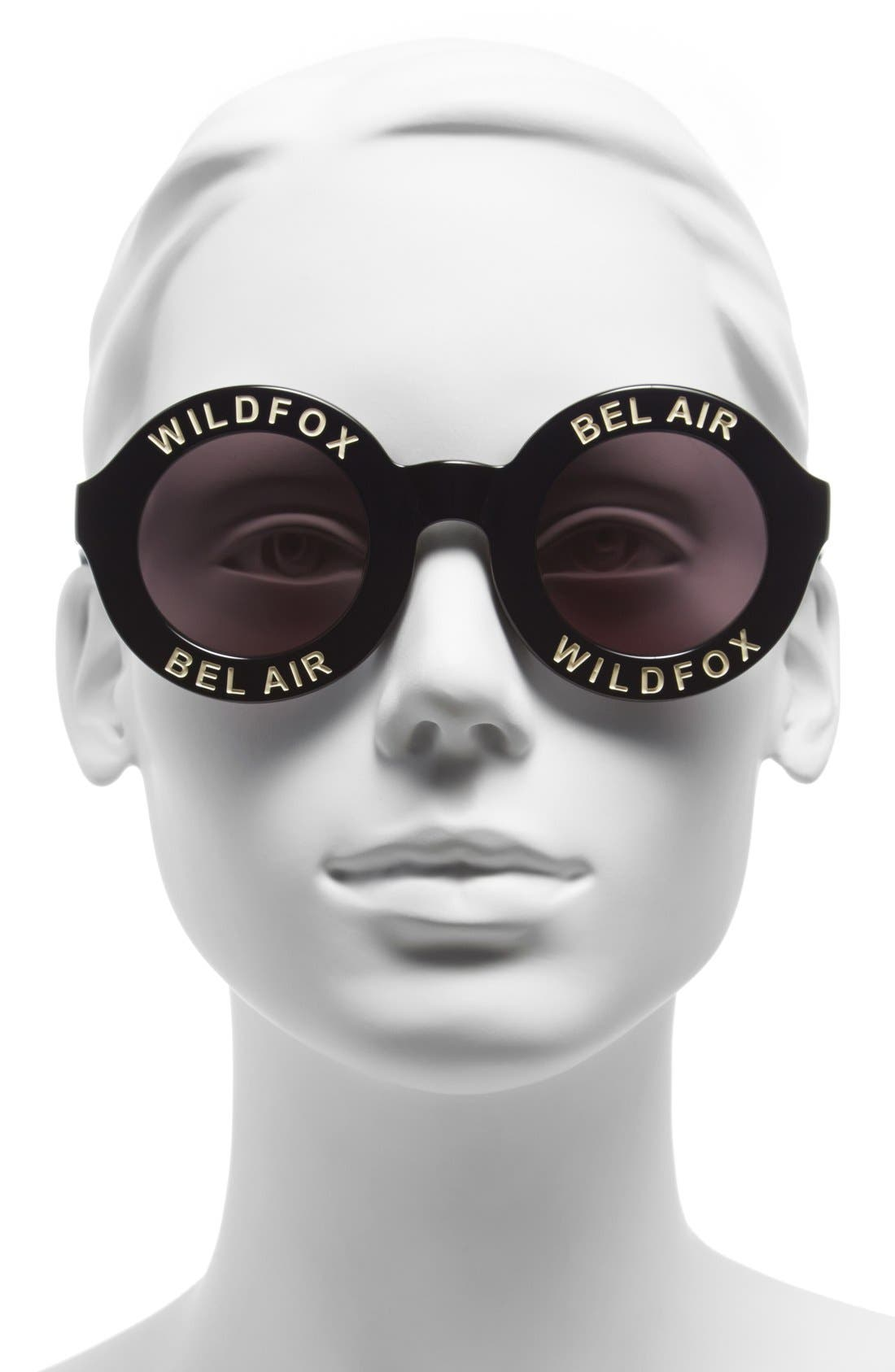 'Bel Air' 44mm Sunglasses,                             Alternate thumbnail 6, color,