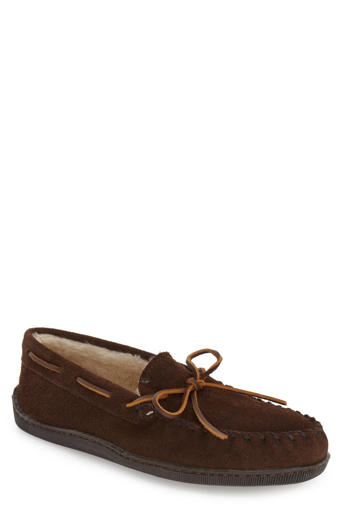 Moccasin,                             Main thumbnail 1, color,                             CHOCOLATE