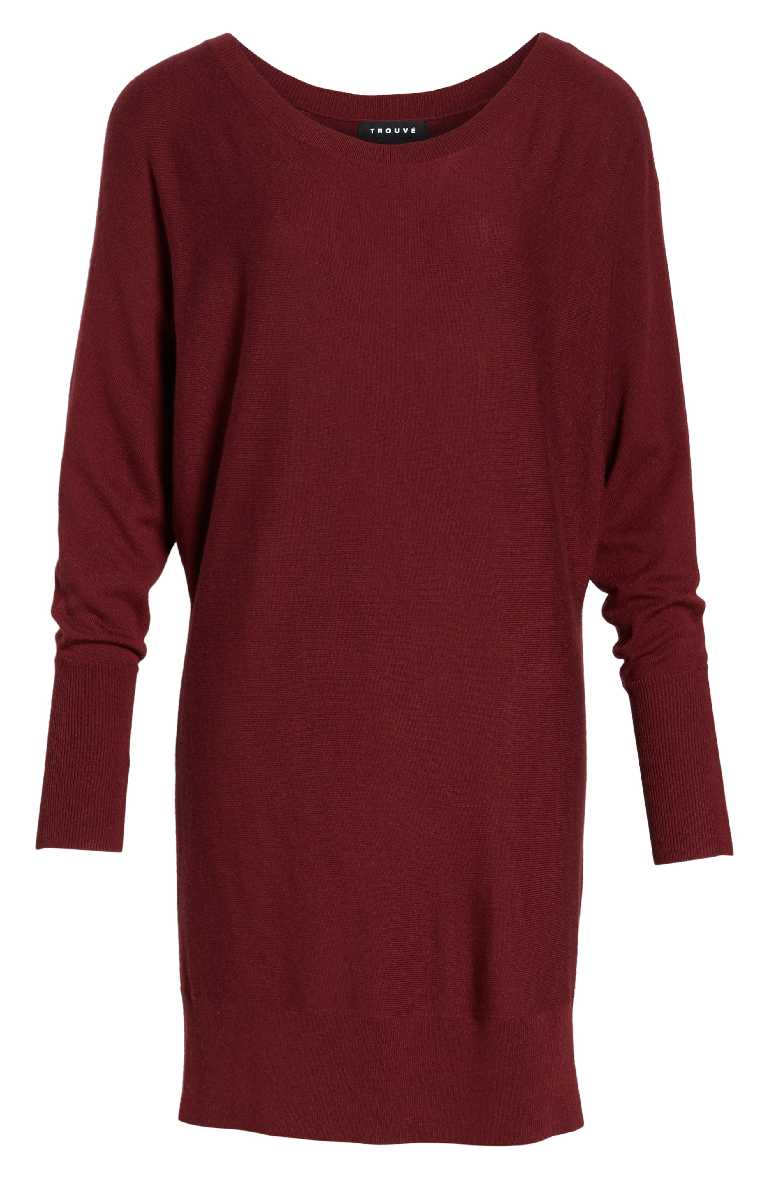 Off the Shoulder Sweater Tunic,                             Alternate thumbnail 36, color,