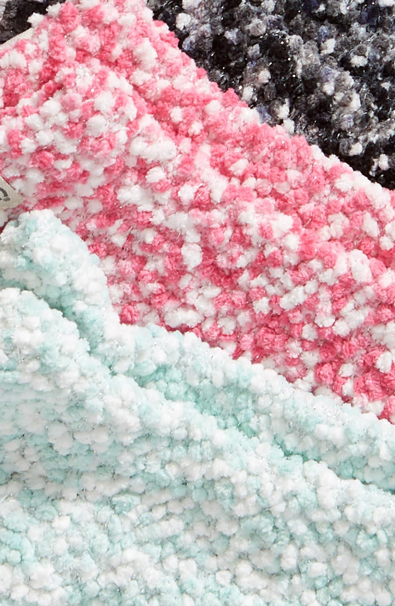 3-Pack Pompom Socks,                             Alternate thumbnail 2, color,