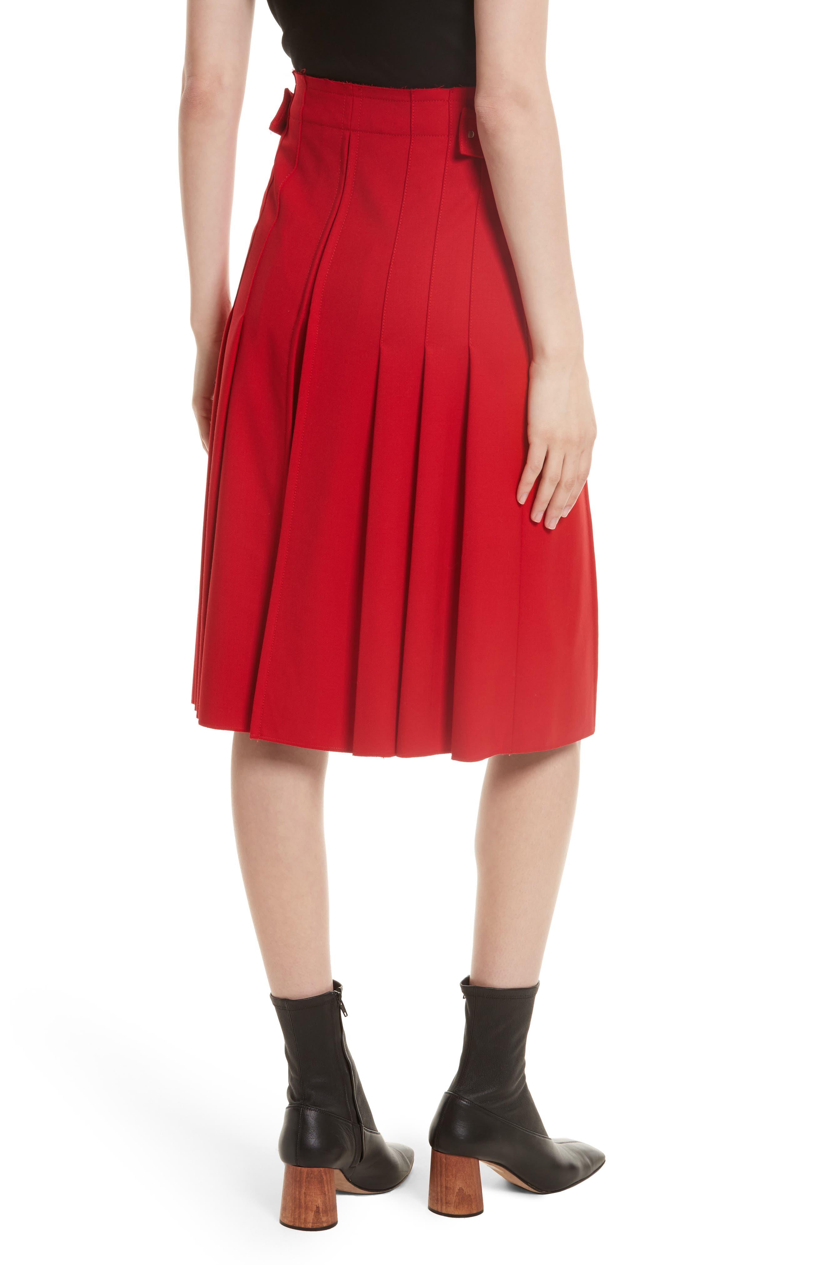 Suiting Kilt Skirt,                             Alternate thumbnail 2, color,                             600