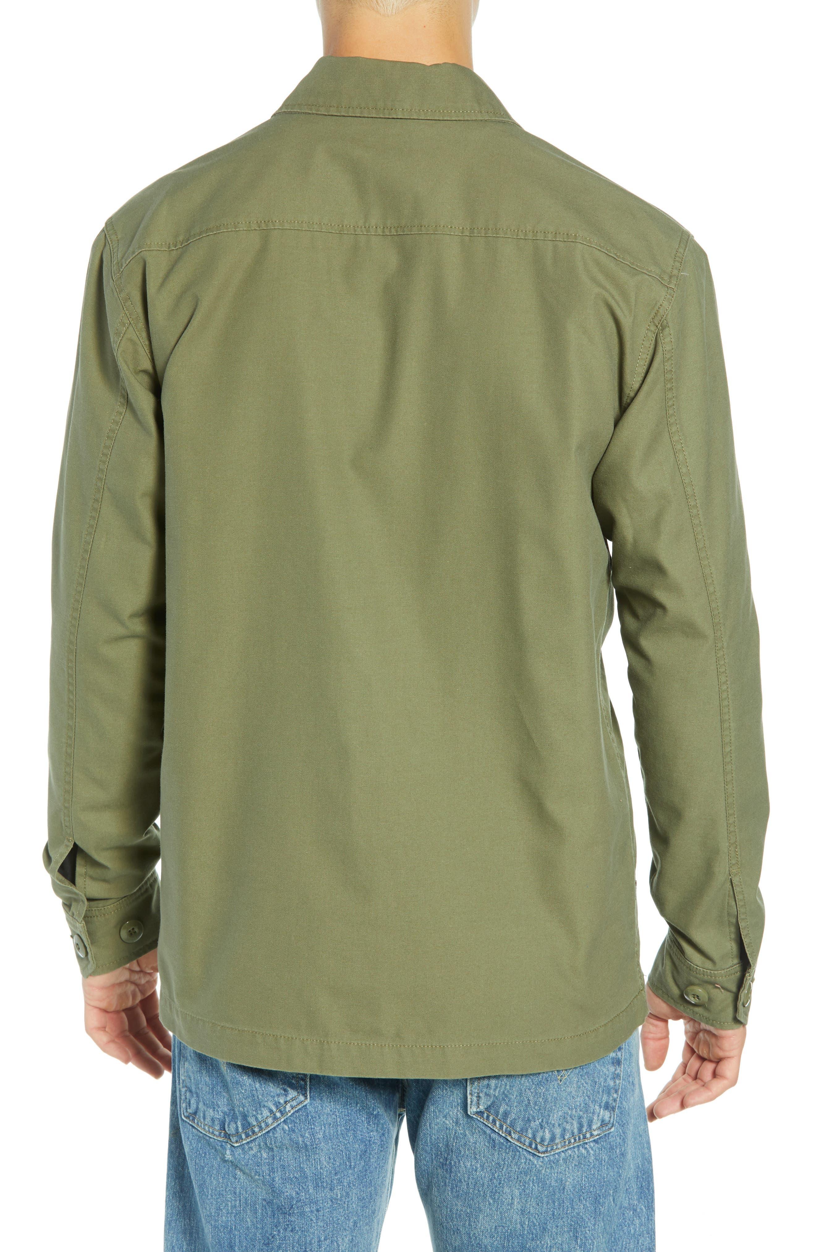 Station Shirt Jacket,                             Alternate thumbnail 2, color,                             BURNT OLIVE