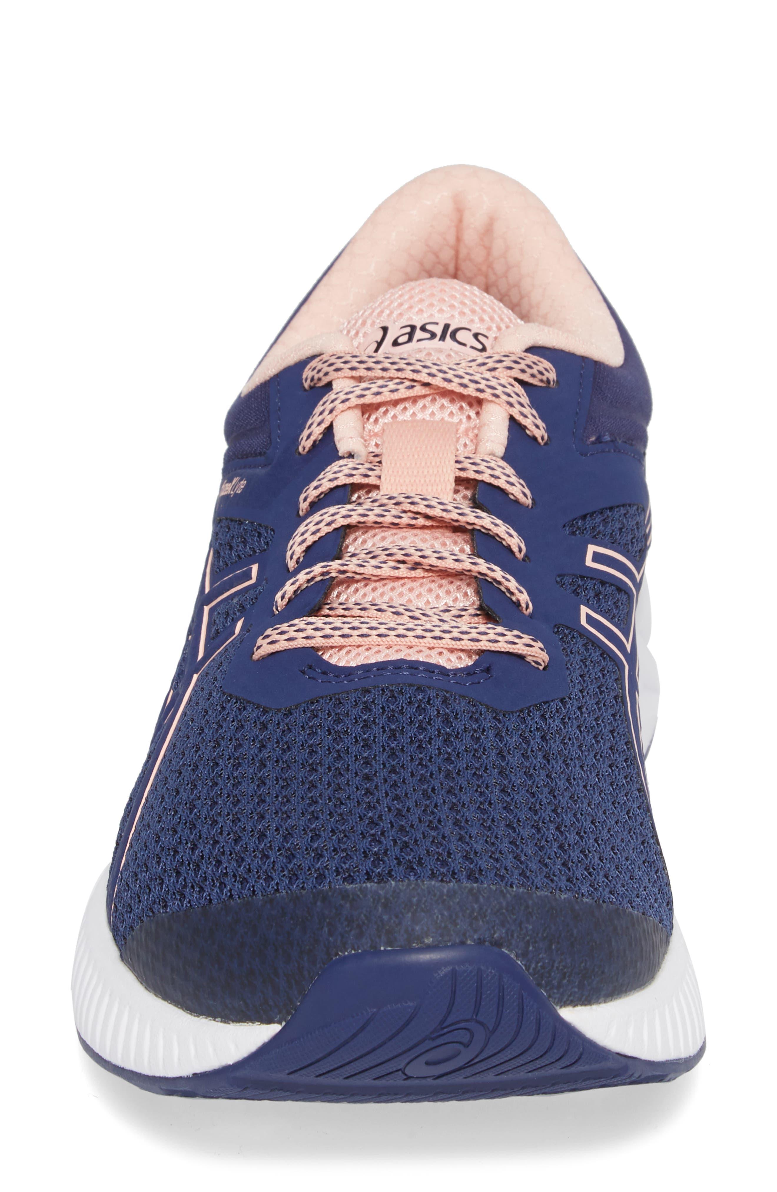 FuzeX Lyte 2 Running Shoe,                             Alternate thumbnail 4, color,                             INDIGO BLUE/ FROSTED ROSE