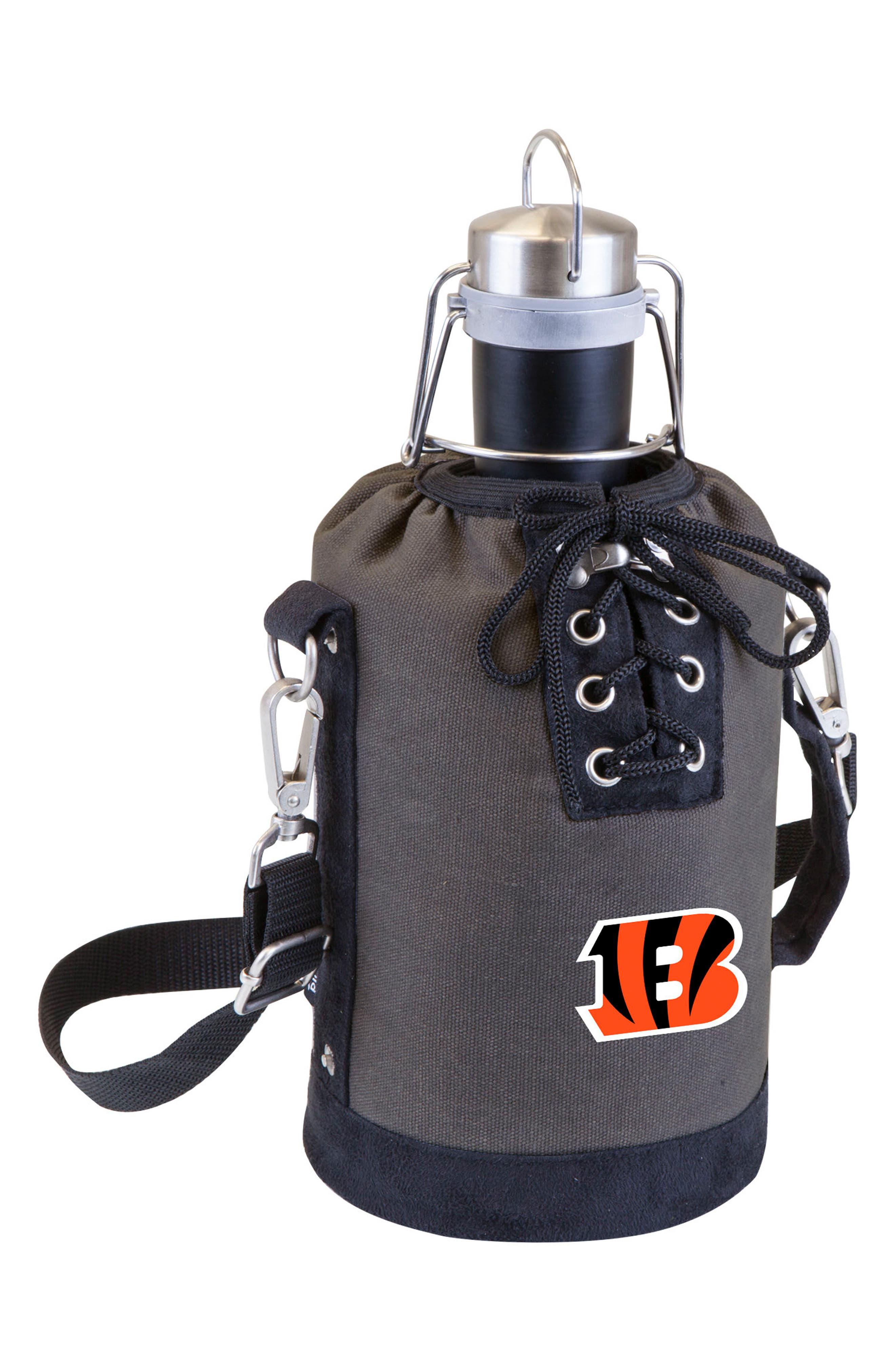 NFL Team Logo Tote & Stainless Steel Growler,                             Main thumbnail 7, color,