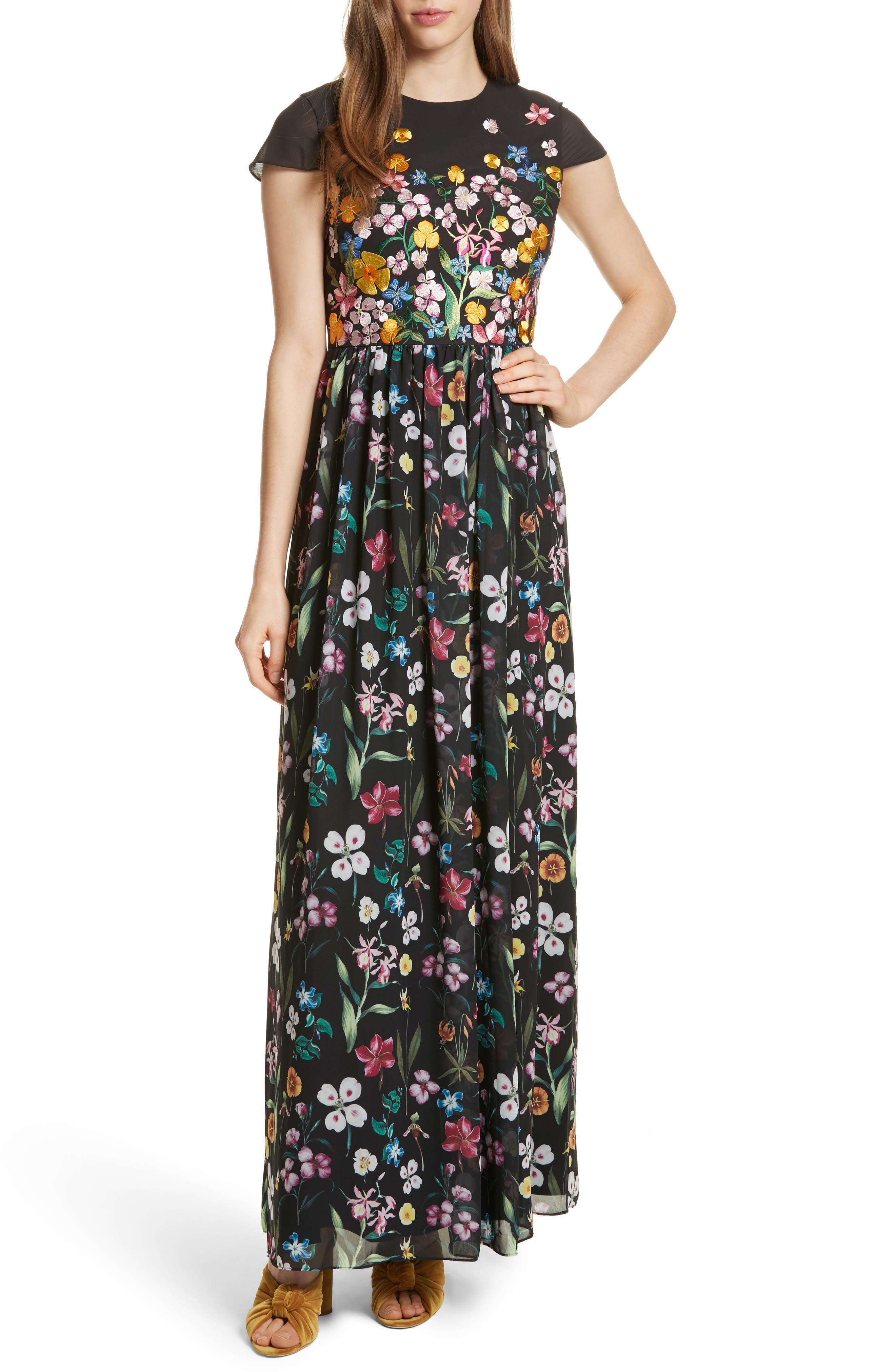 Hampton Maxi Dress,                         Main,                         color, 001
