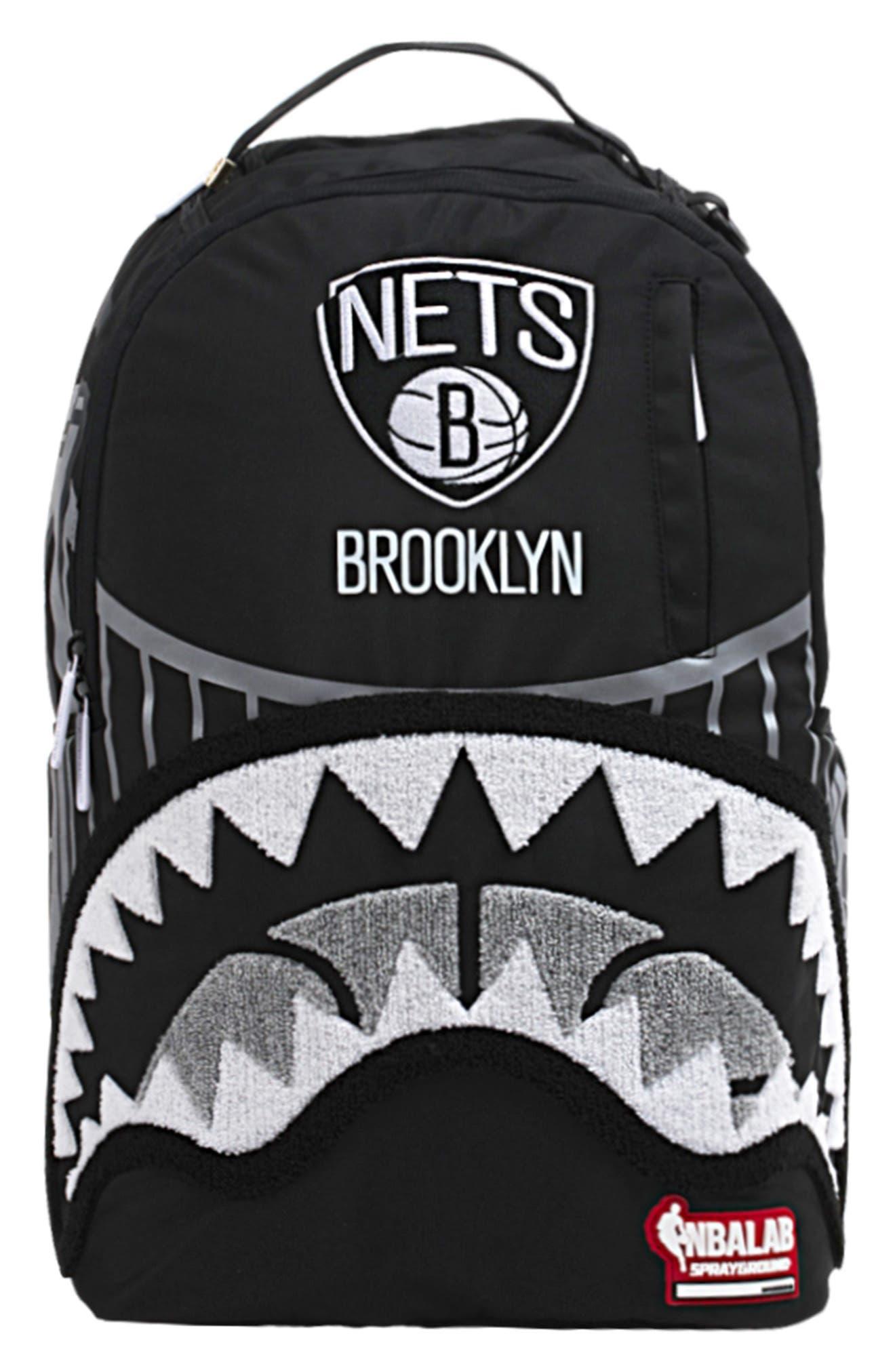 SPRAYGROUND Brooklyn Bridge Shark Teeth Backpack - Black