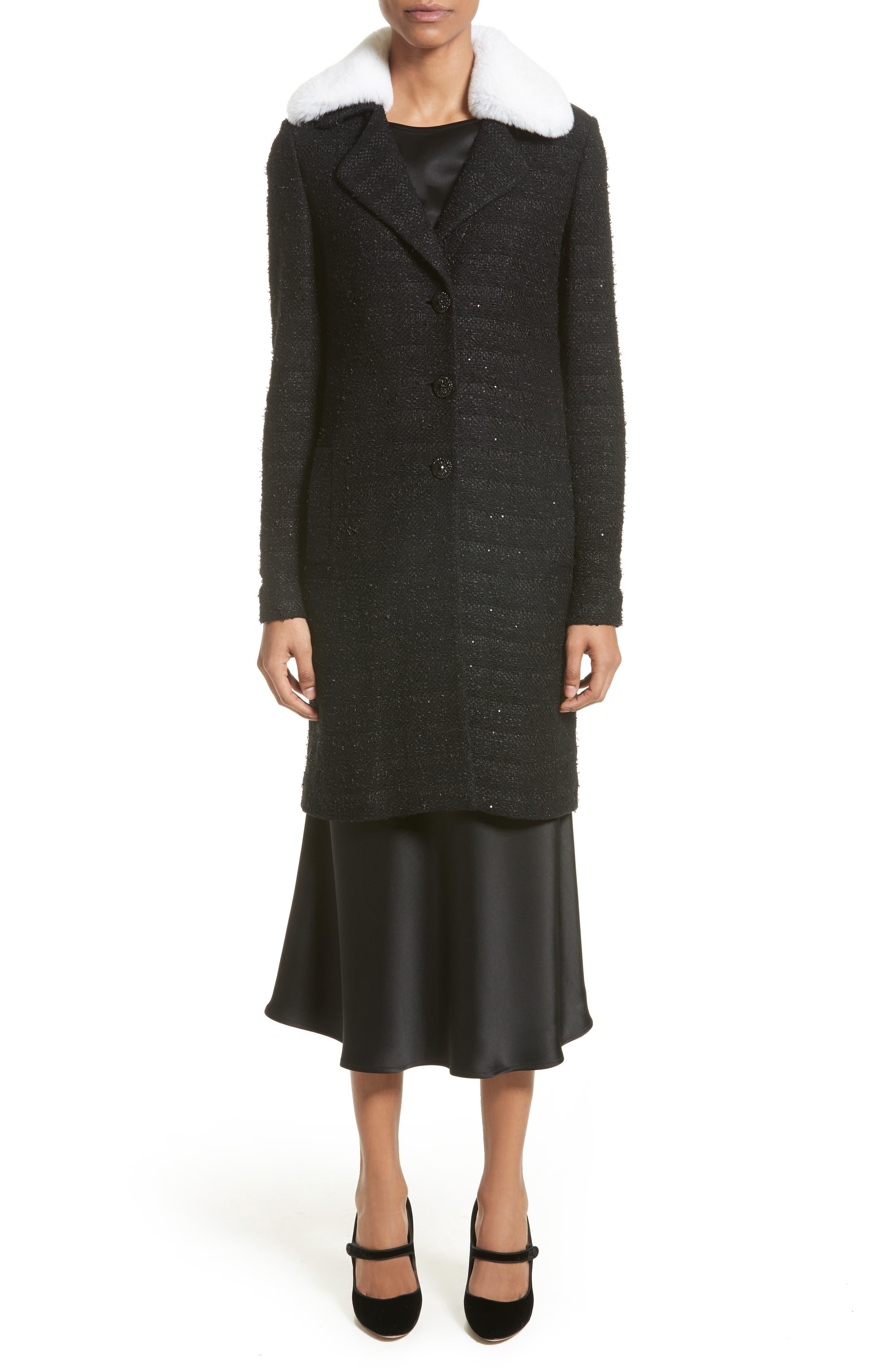 Bias Cut Liquid Satin Flared Skirt,                             Alternate thumbnail 6, color,                             001