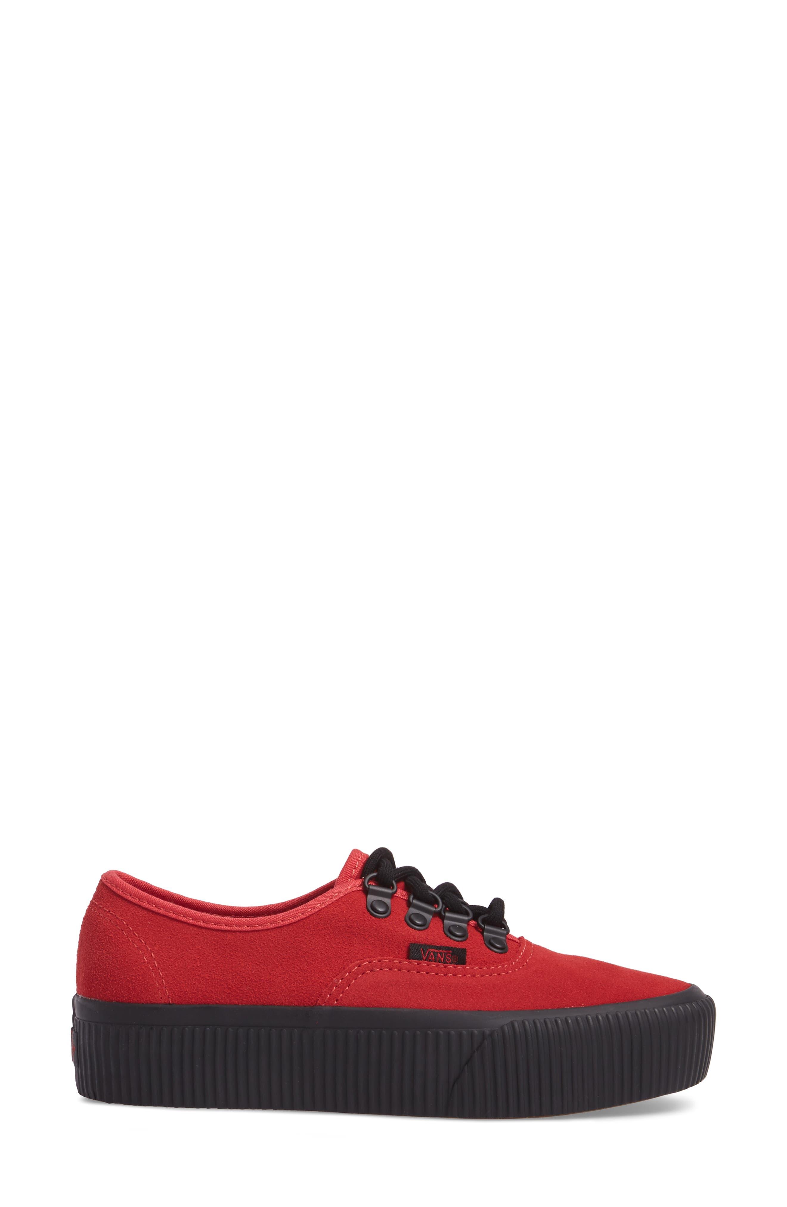 Authentic 2.0 Platform Sneaker,                             Alternate thumbnail 3, color,                             610