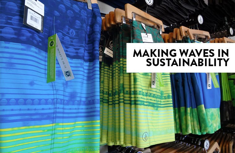 Volcom: making waves in sustainability.