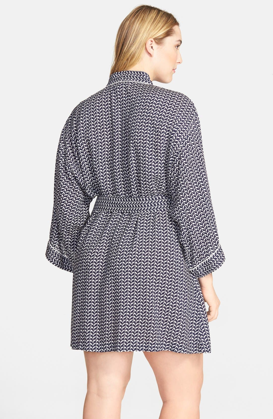Nordstrom 'Sweet Dreams' Woven Robe,                             Alternate thumbnail 4, color,                             410