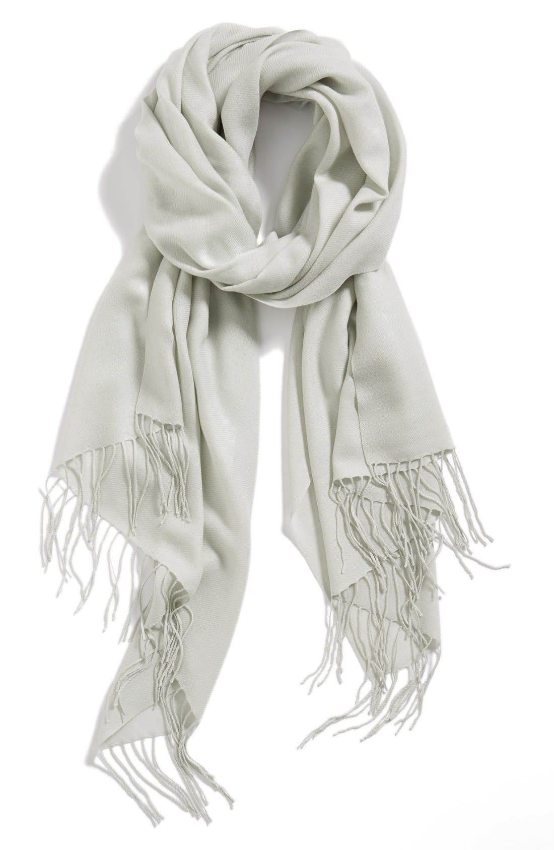 Tissue Weight Wool & Cashmere Wrap,                             Main thumbnail 6, color,