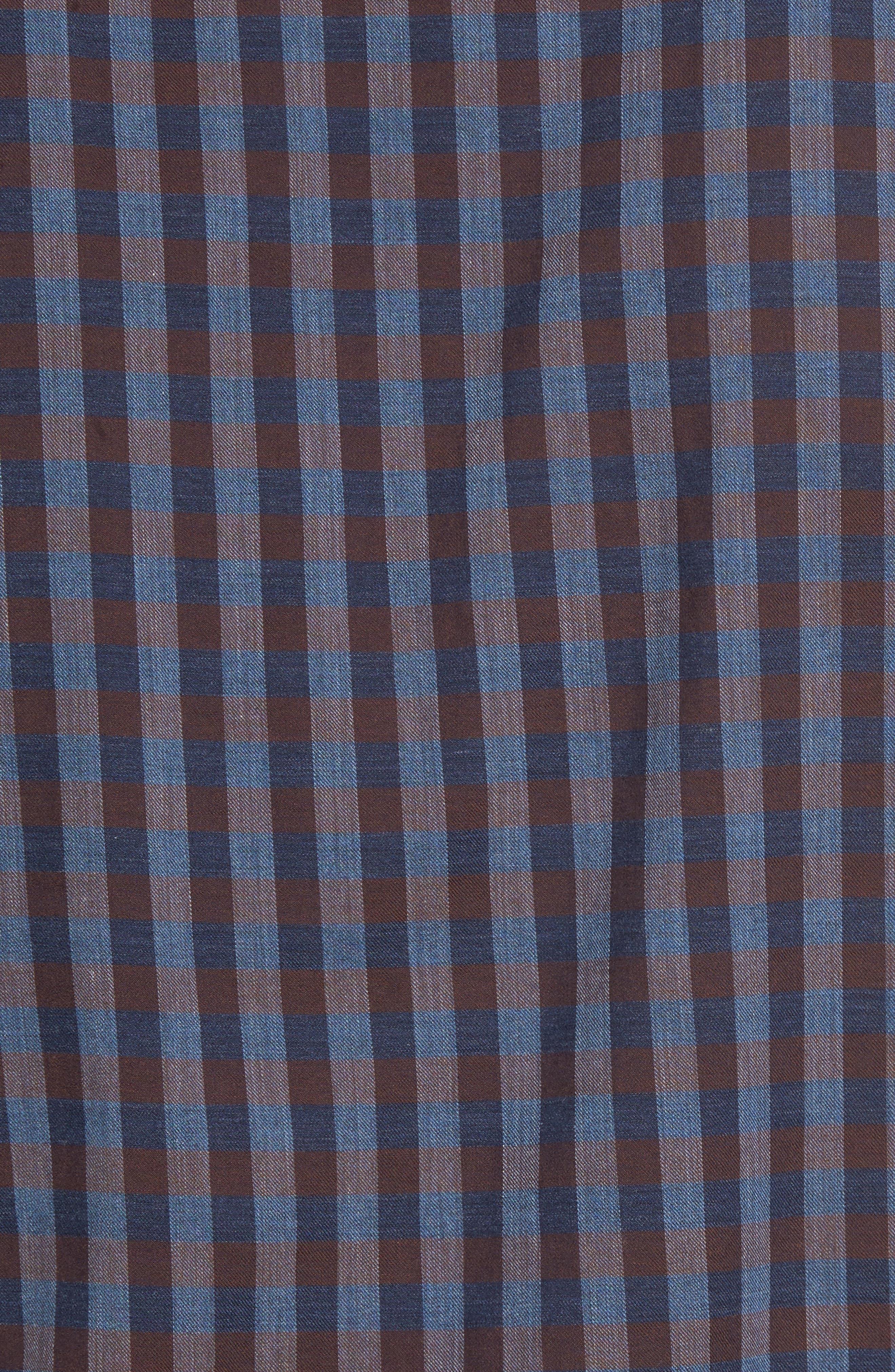 Gisborne Point Check Sport Shirt,                             Alternate thumbnail 5, color,