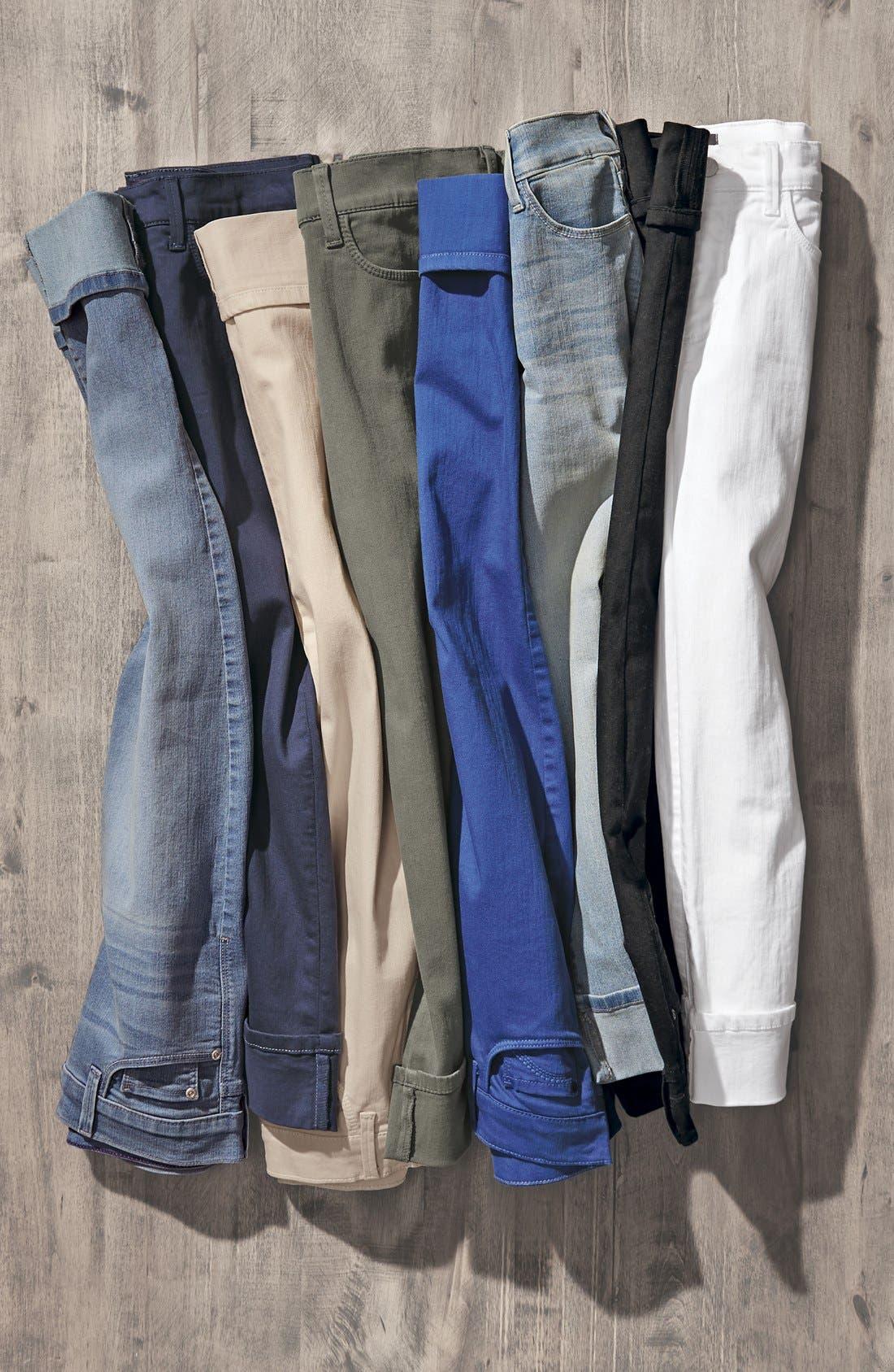 'Dayla' Colored Wide Cuff Capri Jeans,                             Alternate thumbnail 60, color,