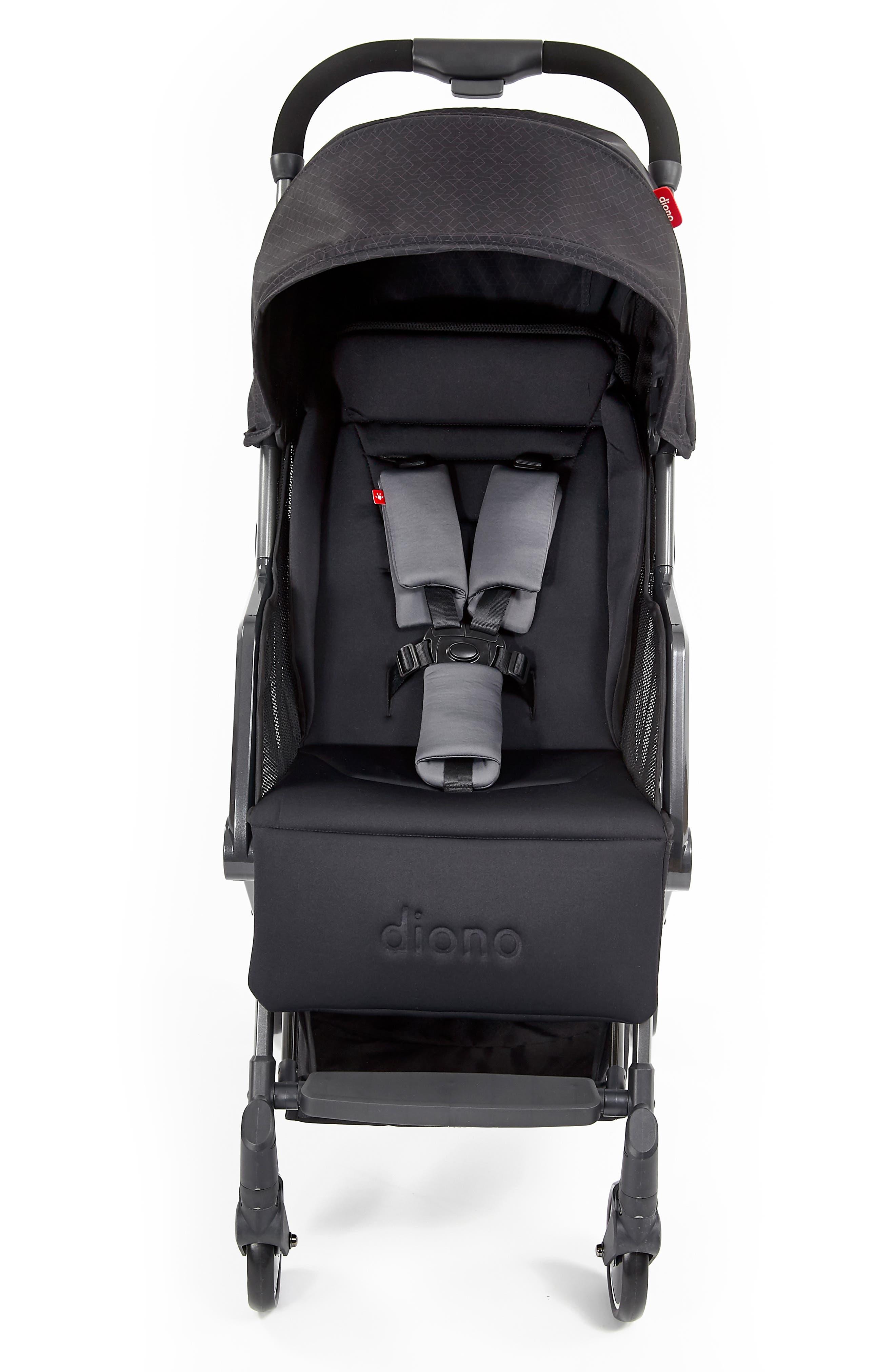 DIONO,                             Traverze Editions Super Compact Stroller,                             Main thumbnail 1, color,                             BLACK CUBE