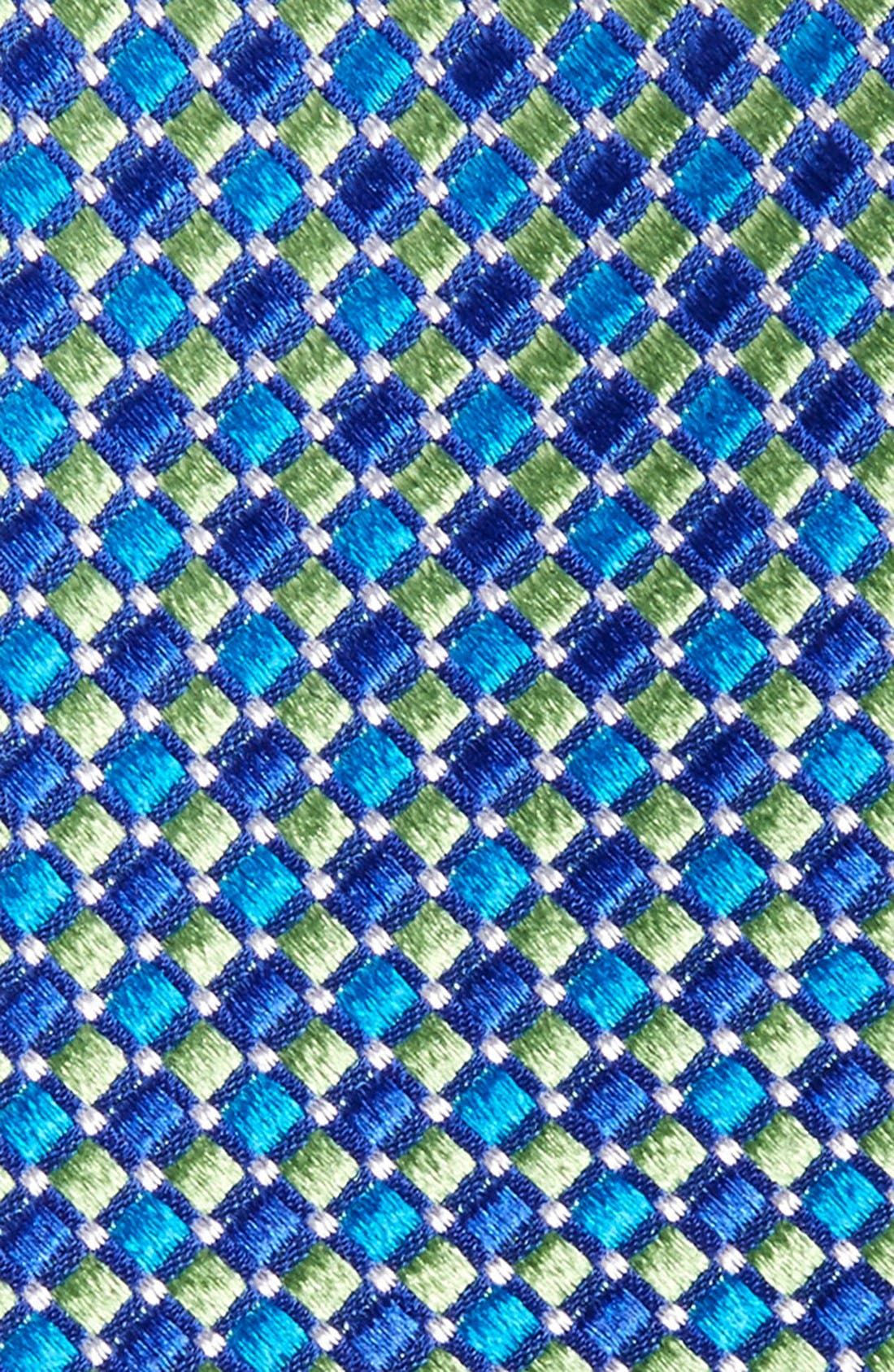 Geo Pattern Silk Tie,                             Alternate thumbnail 13, color,