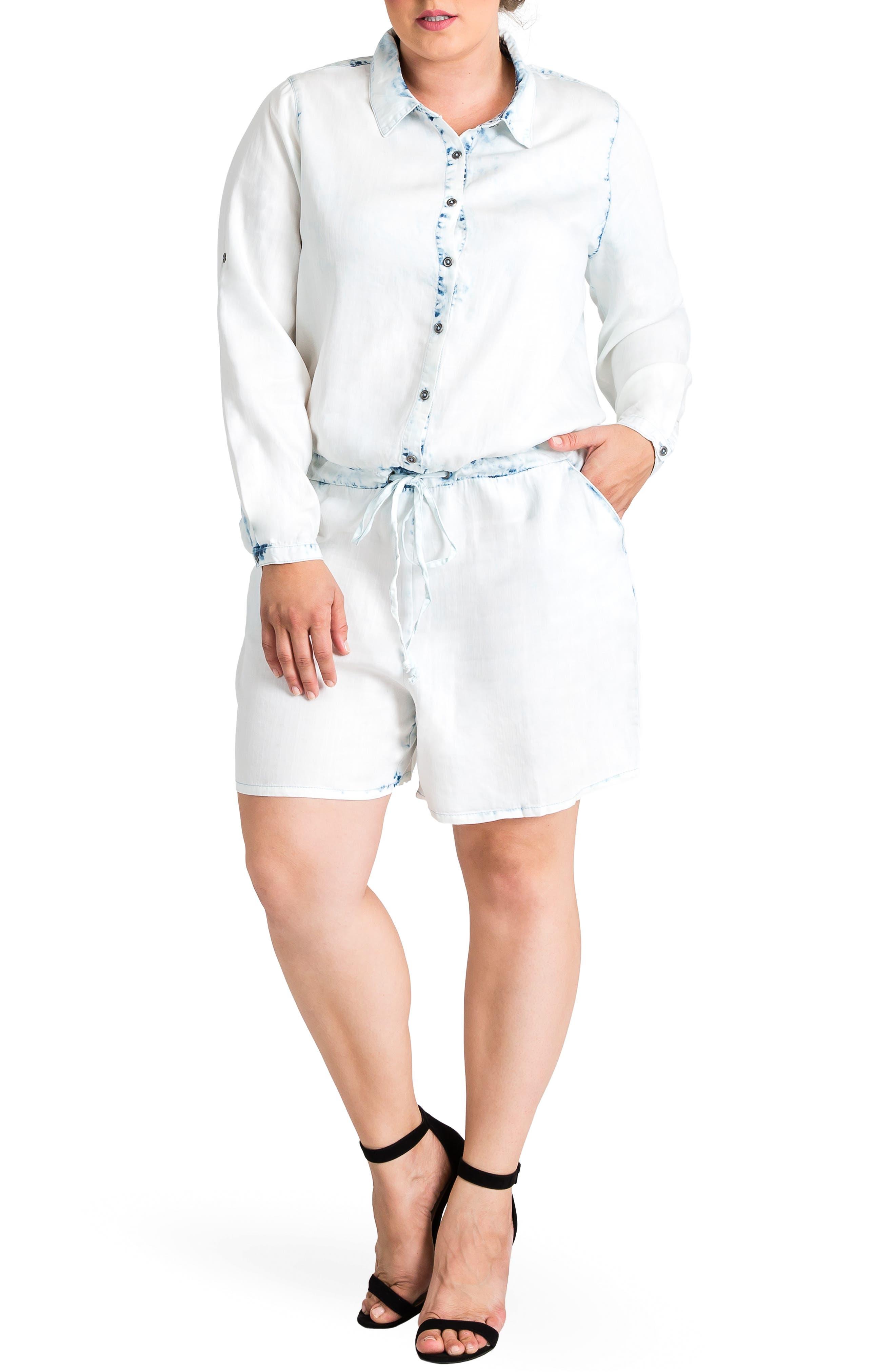 Peggy Romper, Main, color, OPEN WHITE