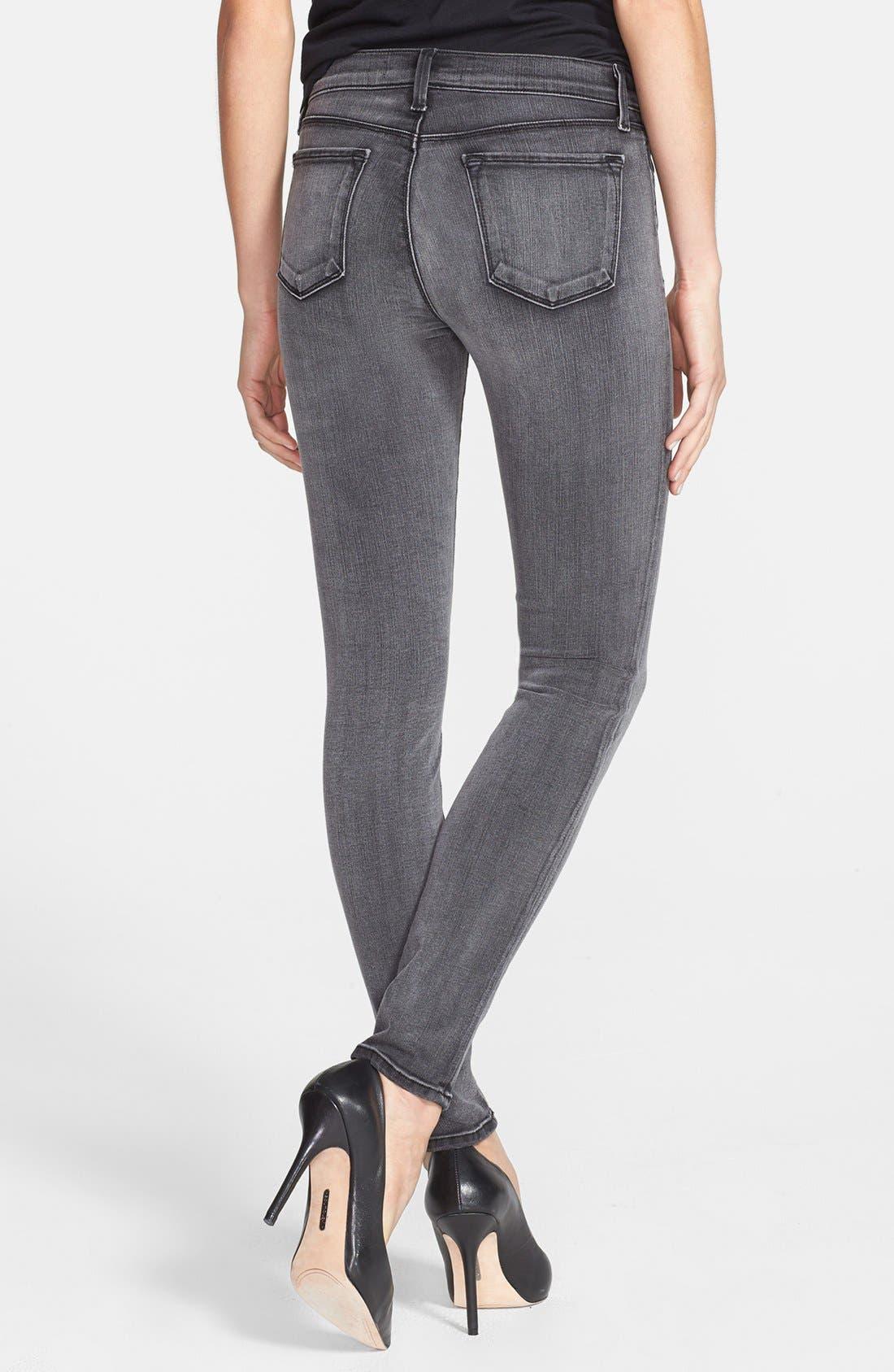 '620' Mid Rise Skinny Jeans,                             Alternate thumbnail 22, color,