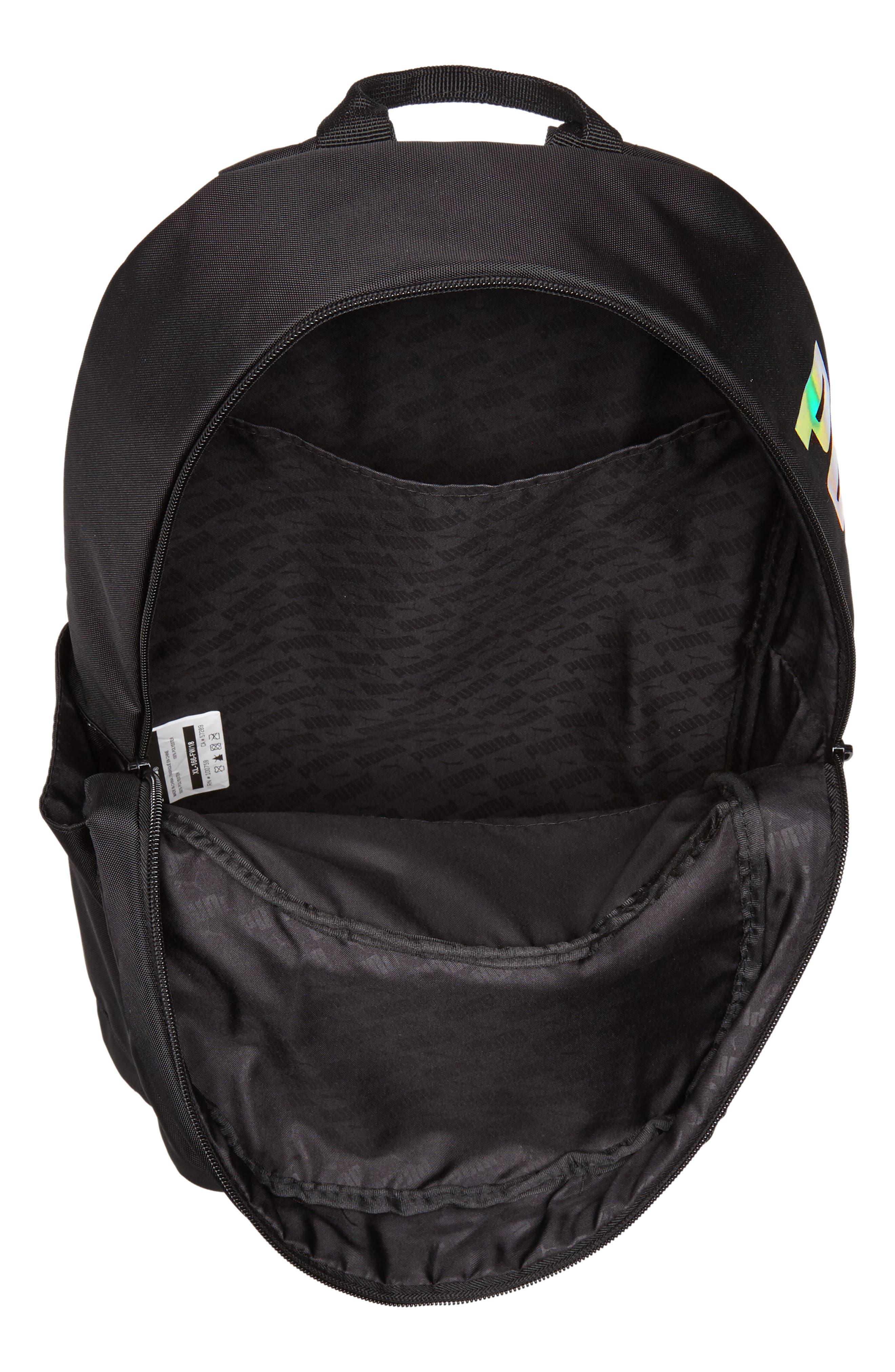 Essential Backpack,                             Alternate thumbnail 4, color,                             BLACK