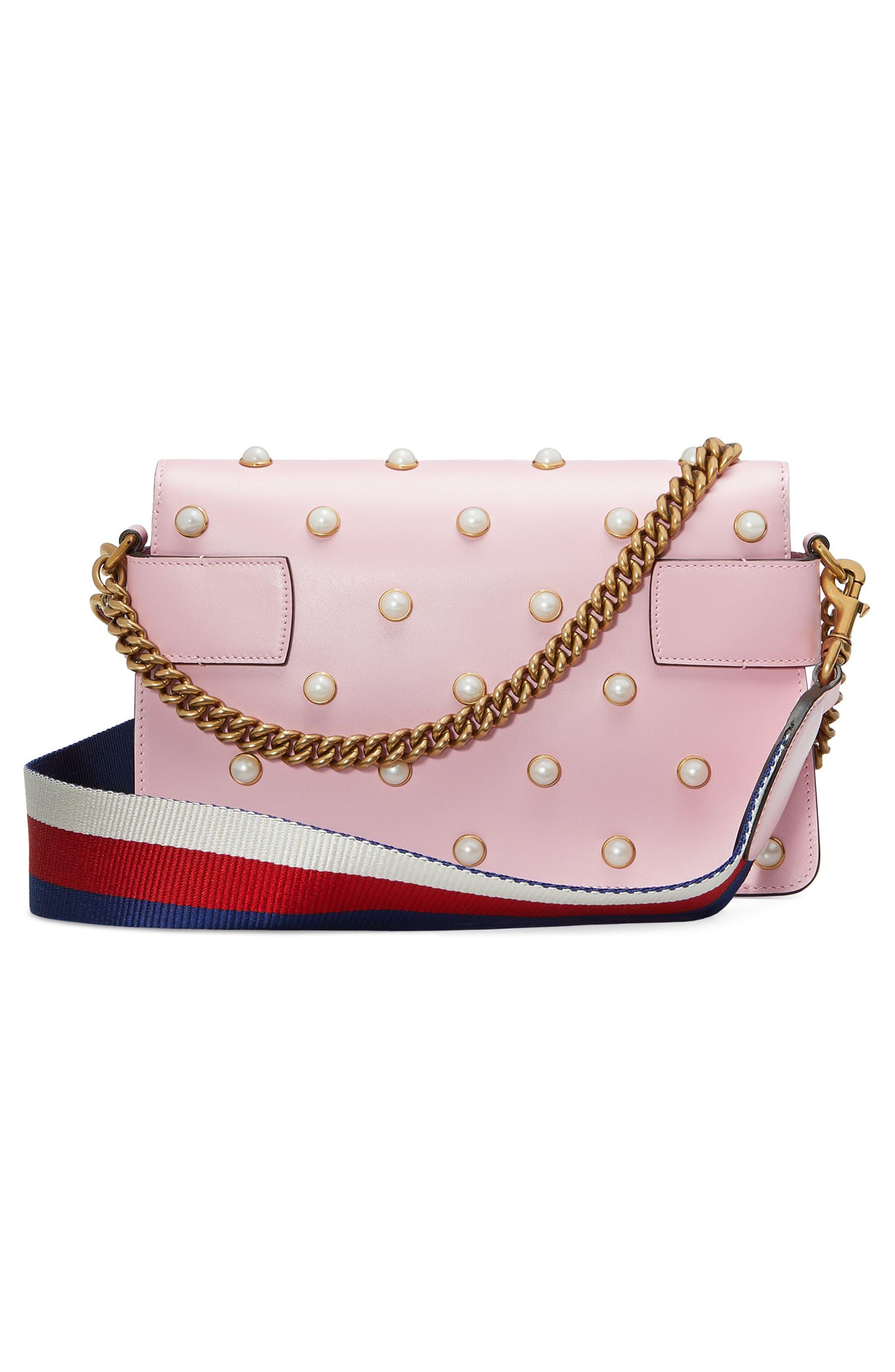 Mini Broadway Leather Shoulder Bag,                             Alternate thumbnail 2, color,                             653