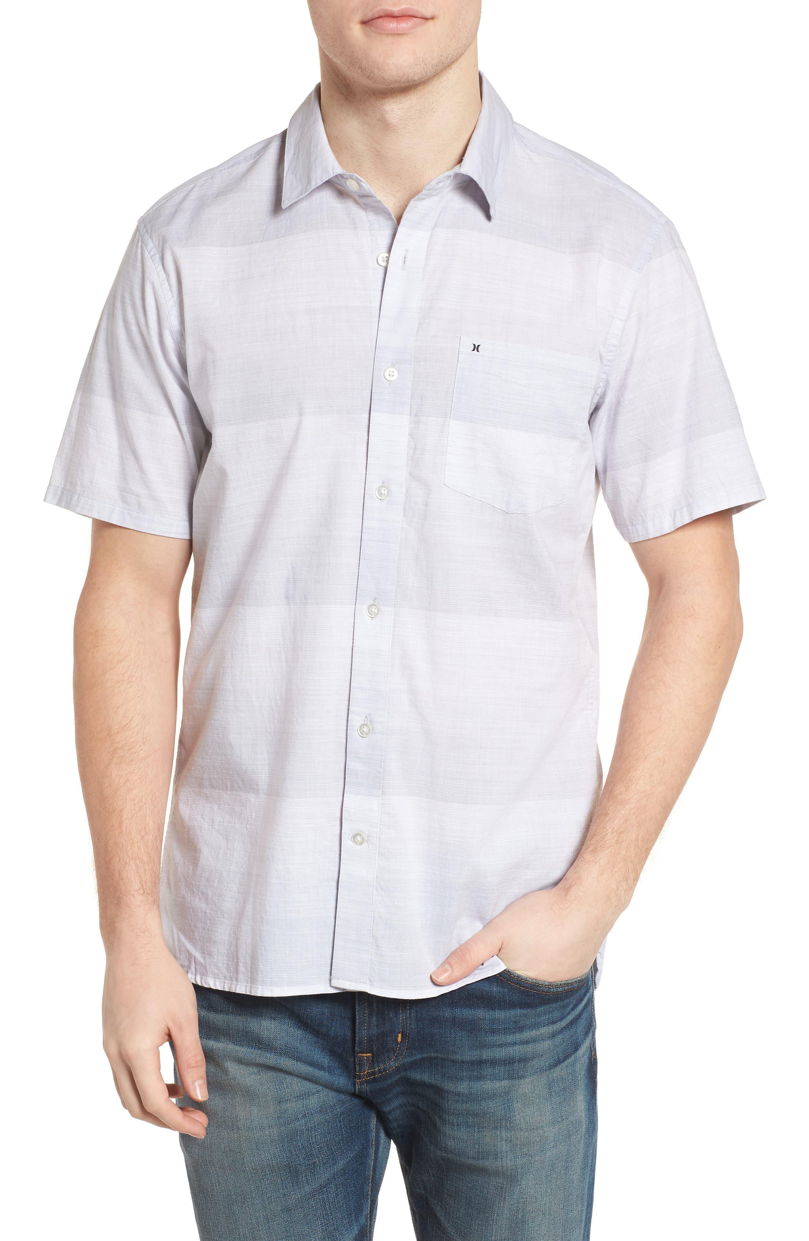 Morris Shirt,                         Main,                         color, WOLF GREY