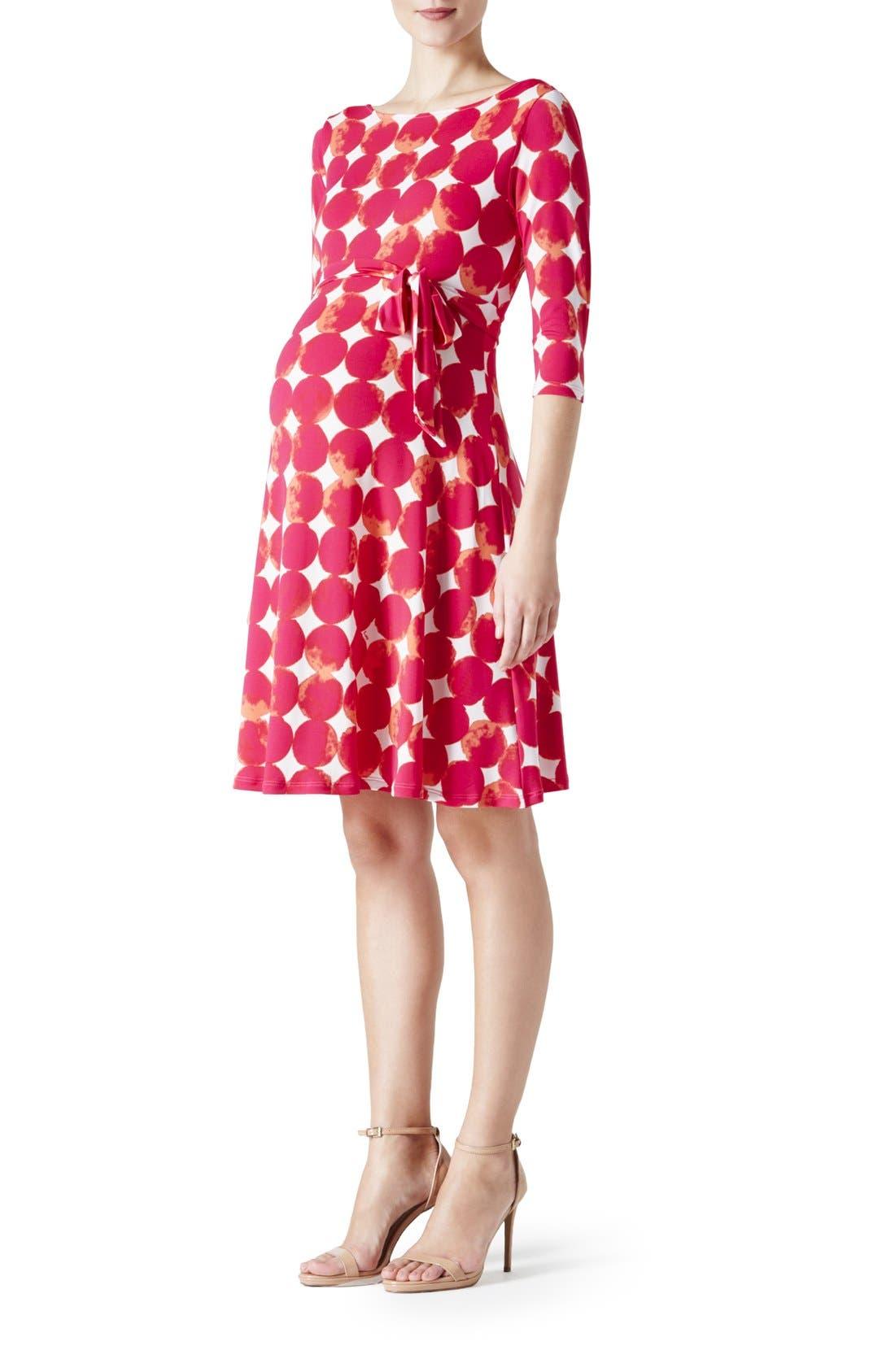 'Ilana' Belted Maternity Dress,                             Main thumbnail 14, color,