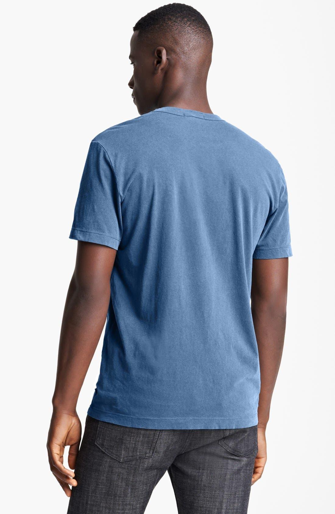 Crewneck Jersey T-Shirt,                             Alternate thumbnail 193, color,