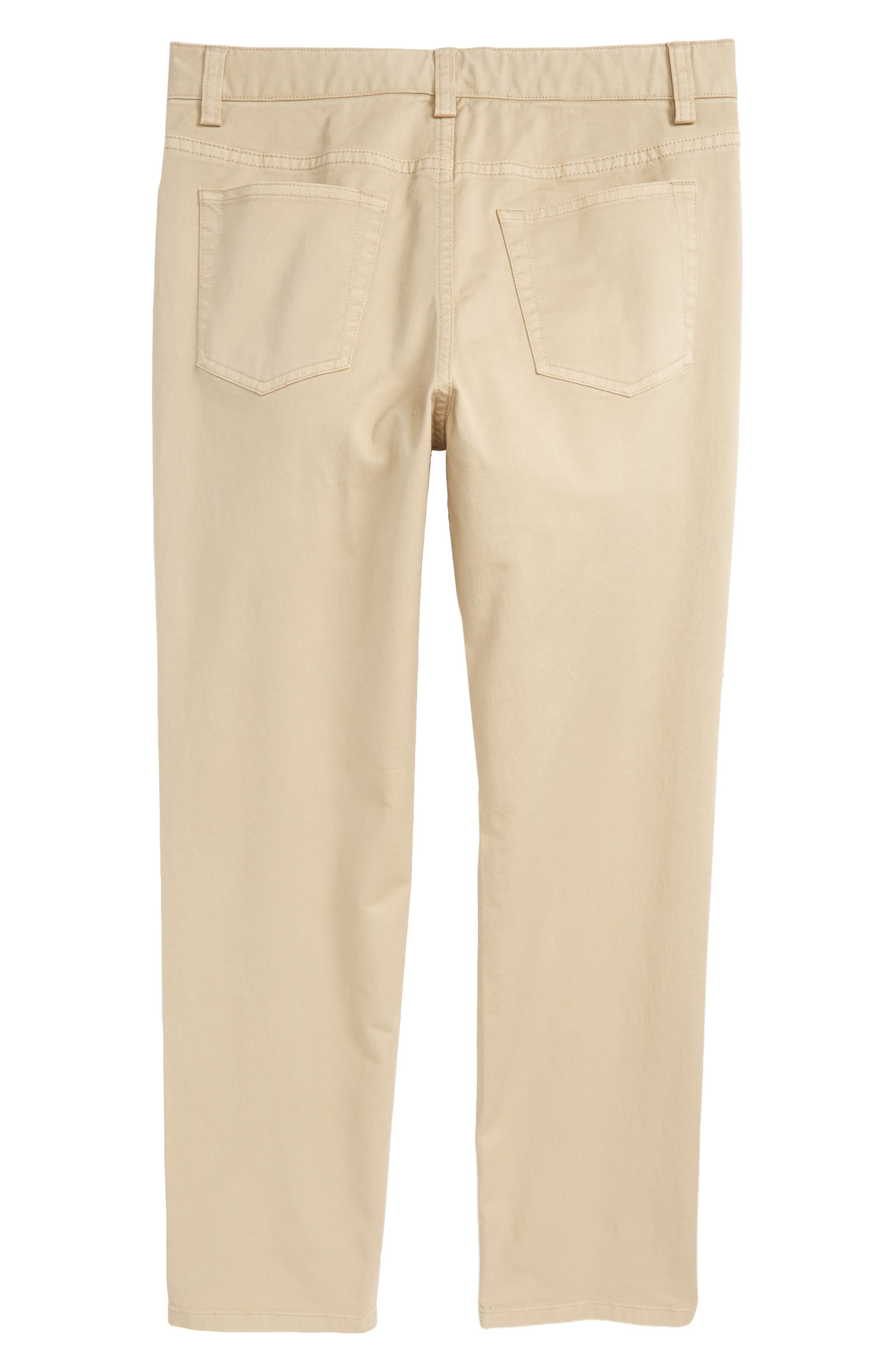 Stretch Twill Pants,                             Alternate thumbnail 3, color,