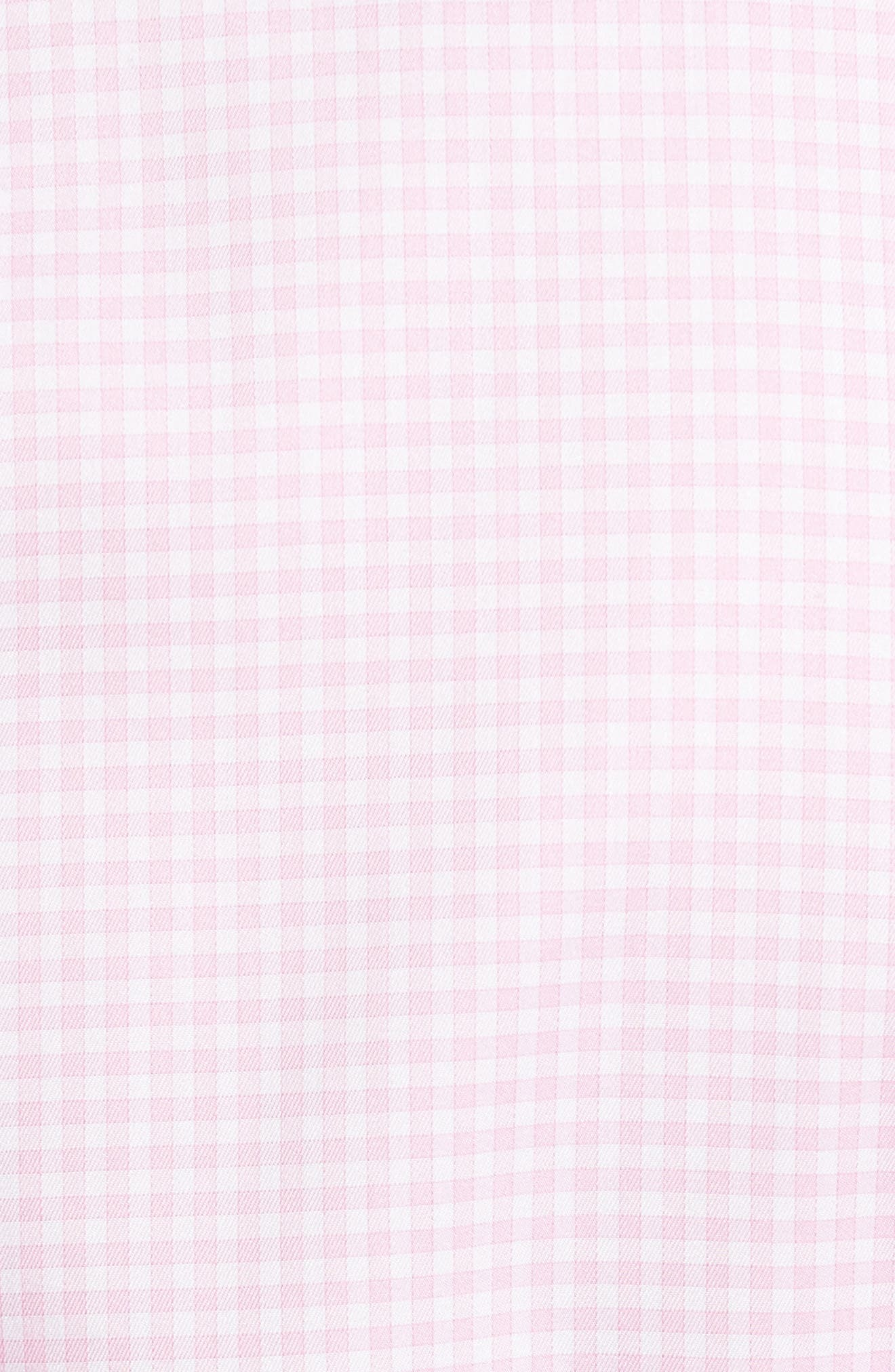 Crown Soft Gingham Regular Fit Sport Shirt,                             Alternate thumbnail 25, color,
