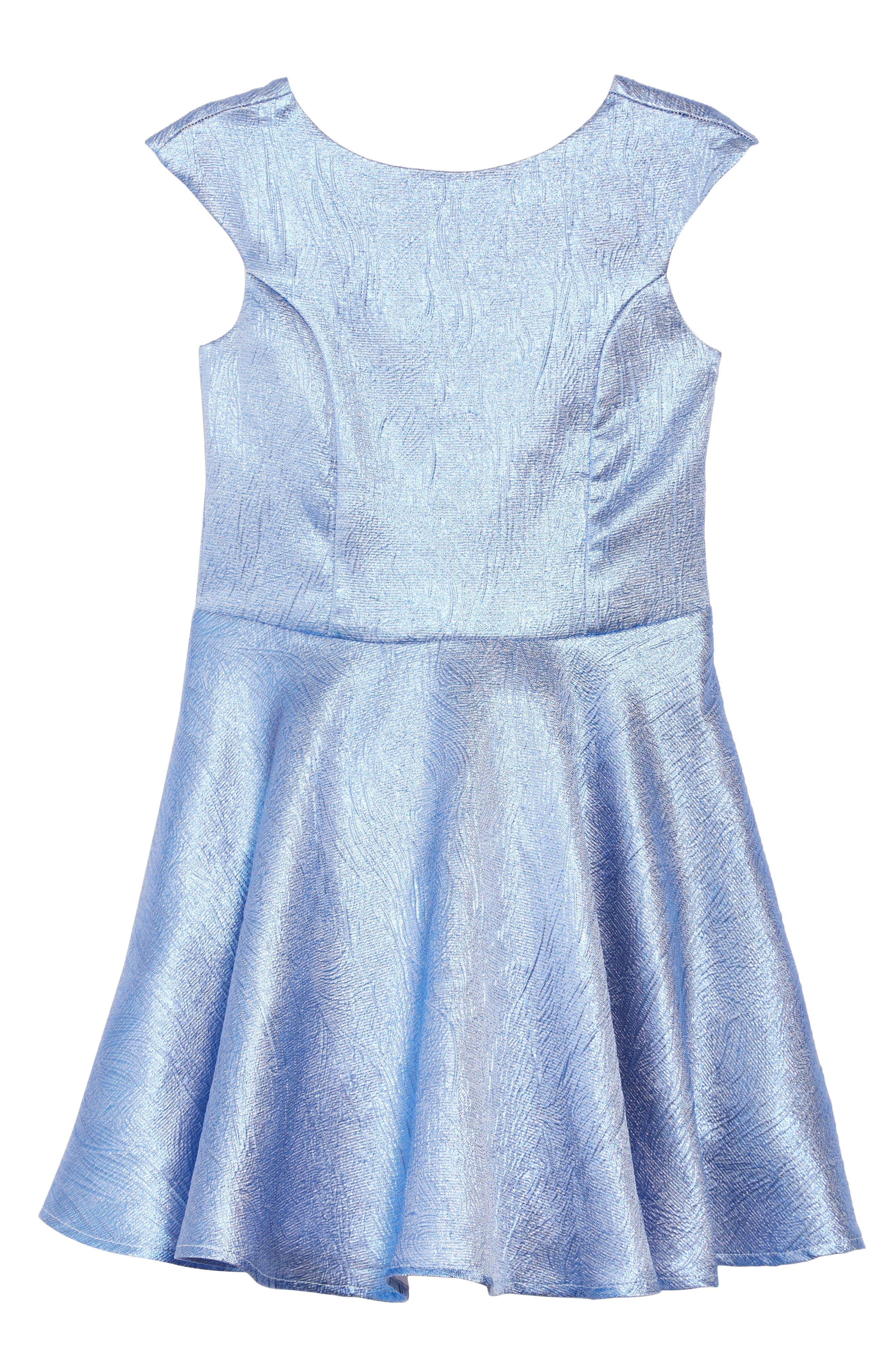 Fit & Flare Dress,                             Main thumbnail 1, color,                             400