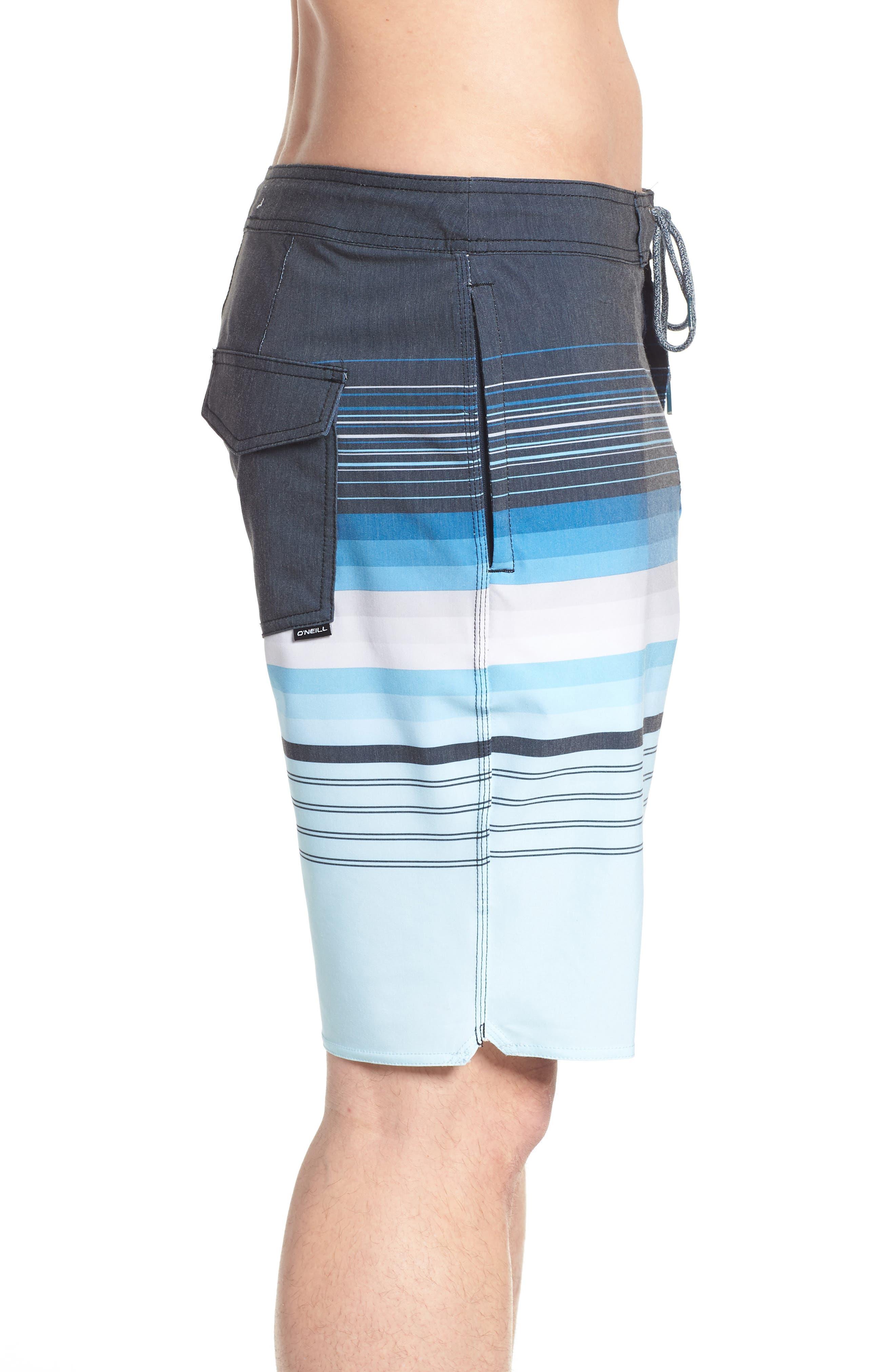 Sandbar Cruzer Board Shorts,                             Alternate thumbnail 3, color,                             NAVY
