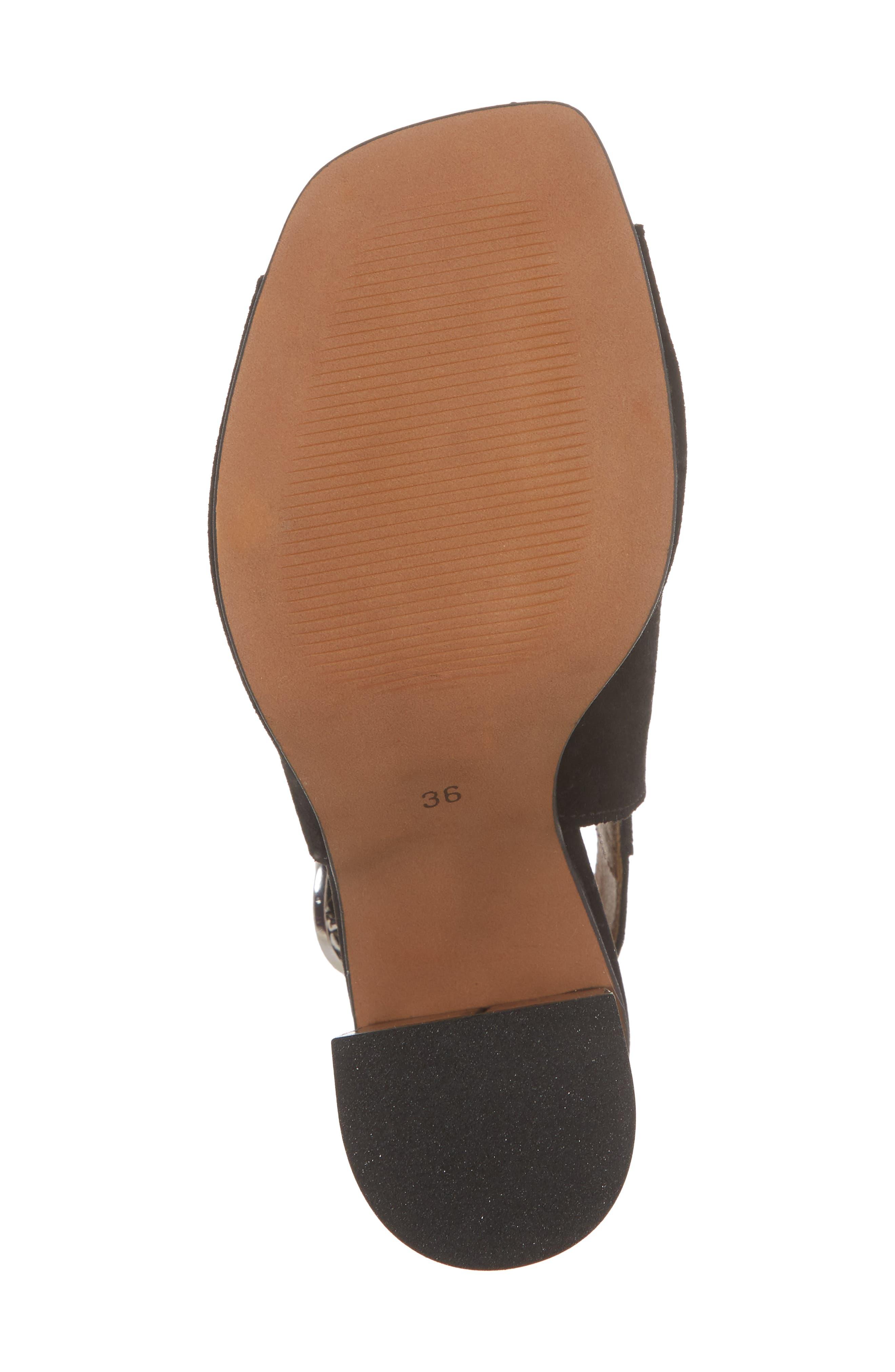 Nika Flared Heel Slingback Sandal,                             Alternate thumbnail 11, color,