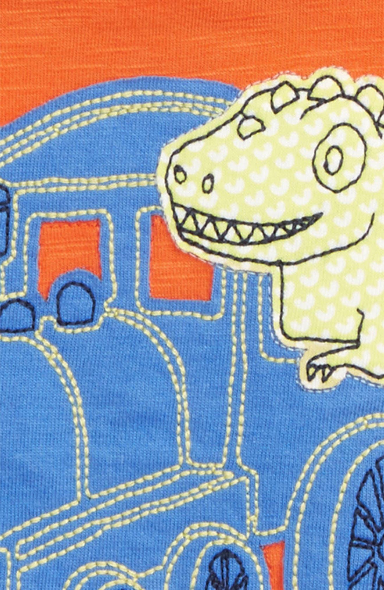 Appliqué T-Shirt,                             Alternate thumbnail 2, color,                             800