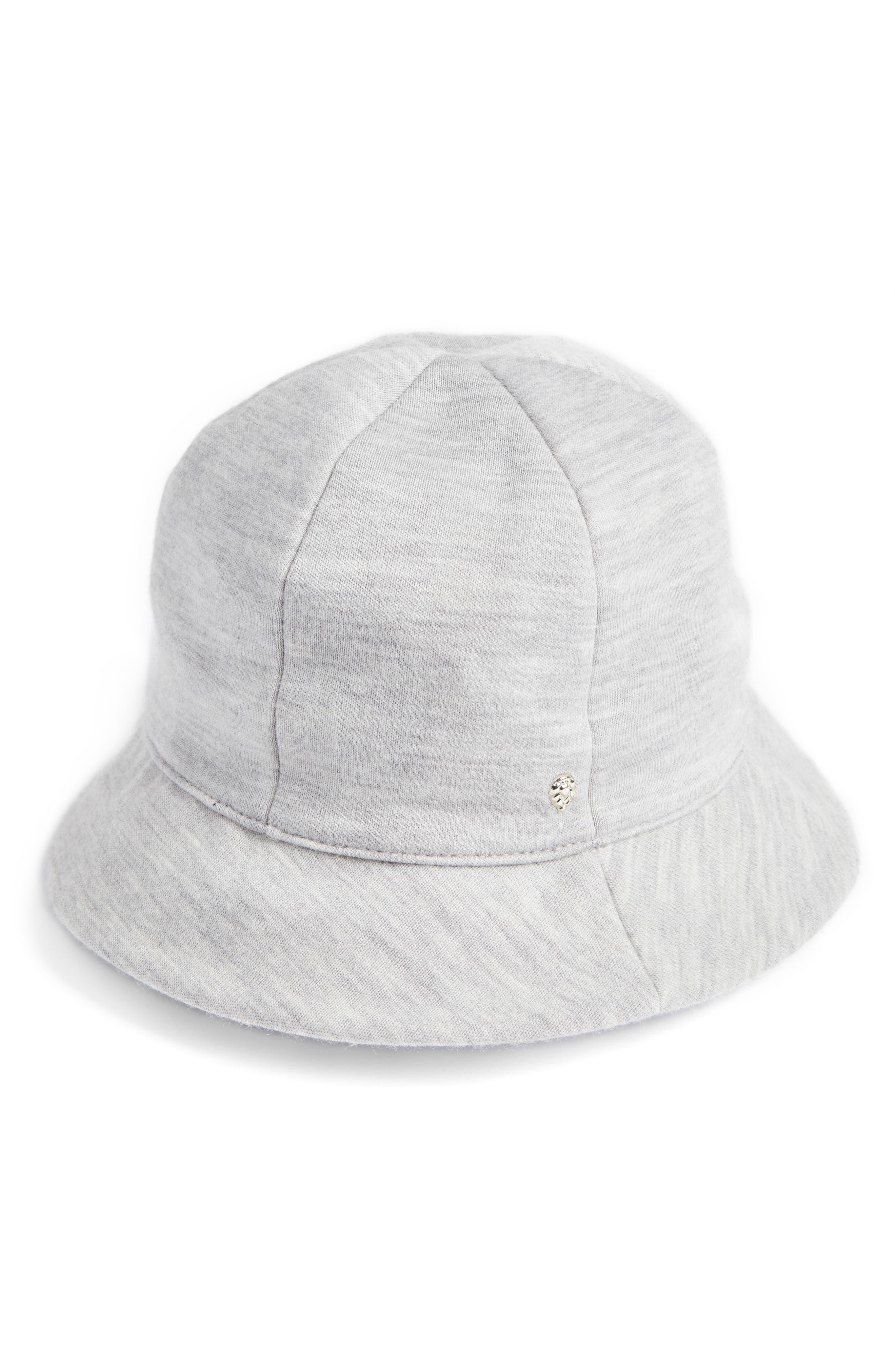 Merino Wool Jersey Bucket Hat,                             Main thumbnail 1, color,                             033
