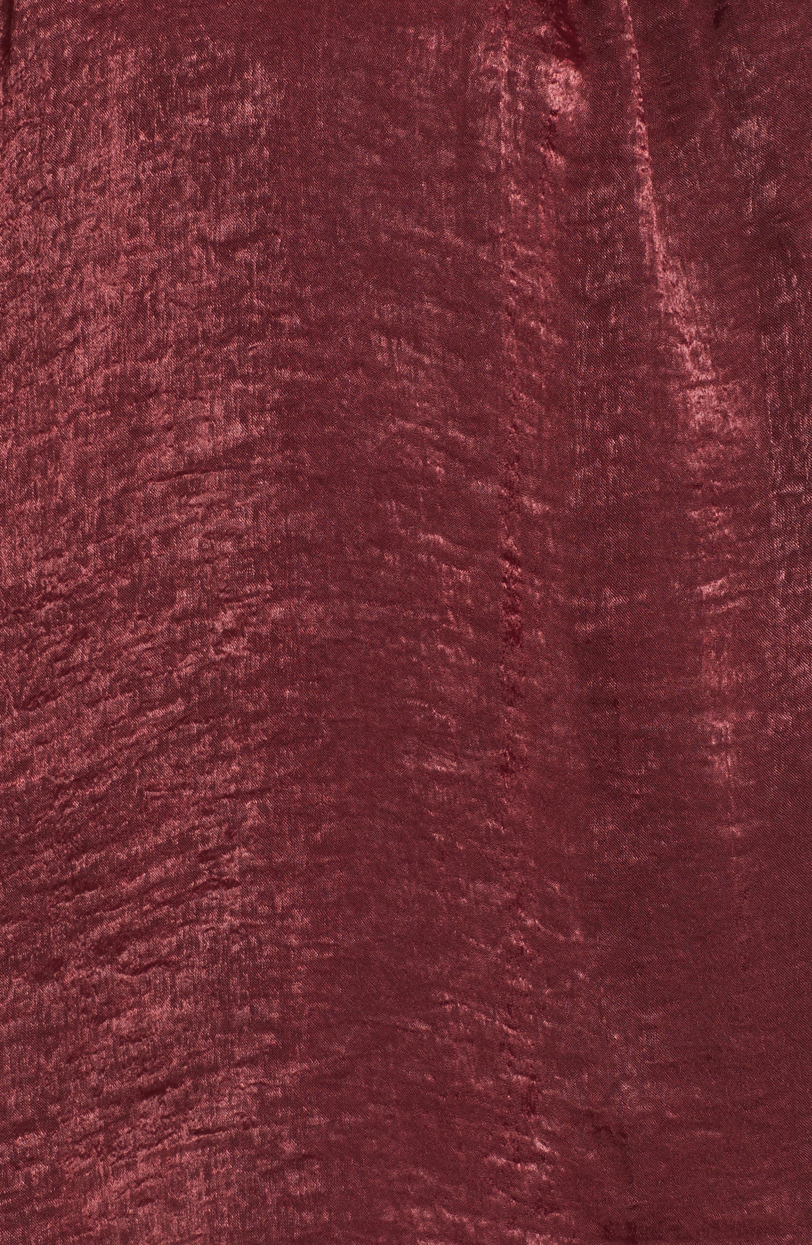 Bell Sleeve Hammered Satin Blouse,                             Alternate thumbnail 20, color,