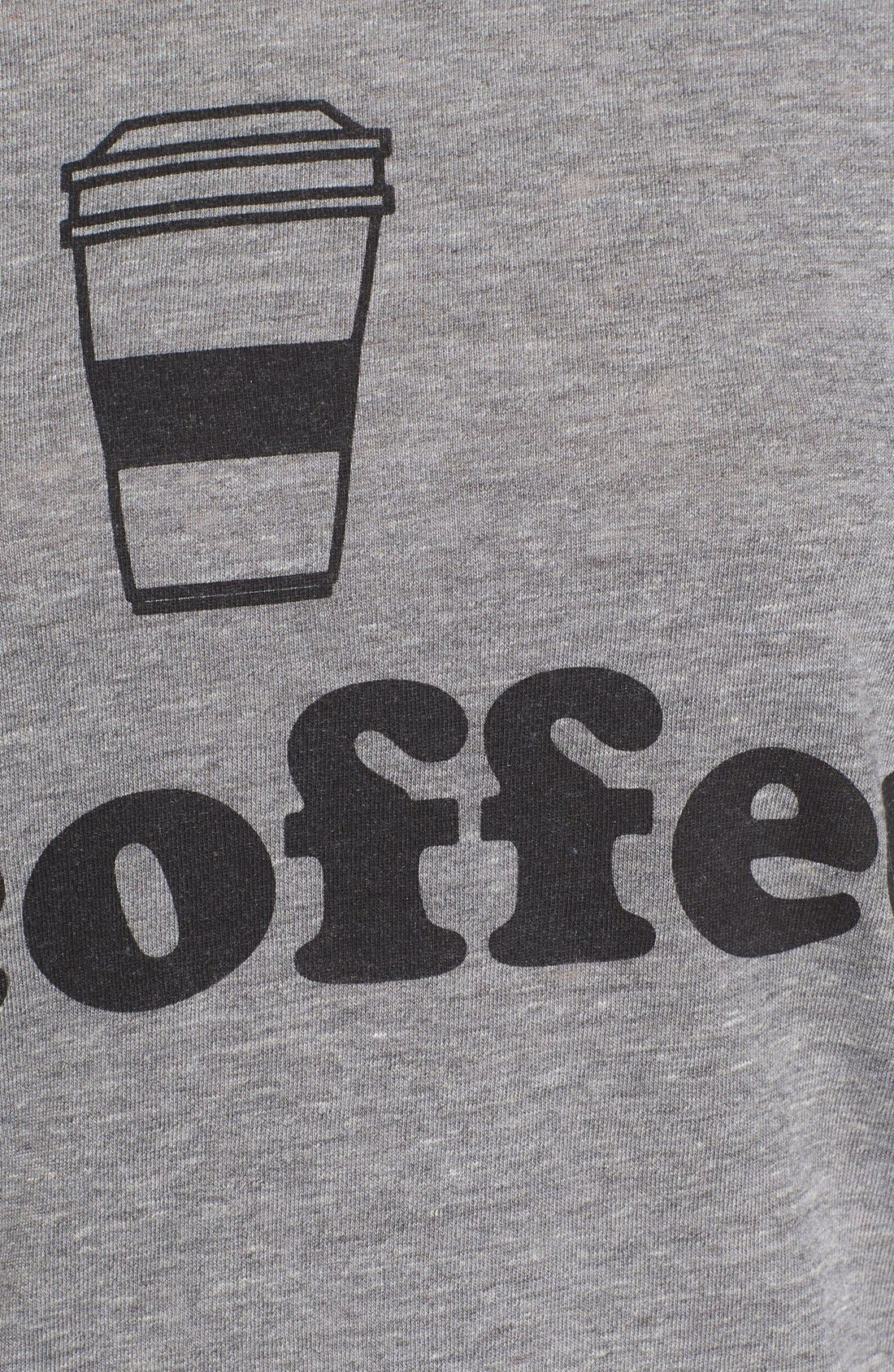 CHASER,                             Coffee Graphic Tee,                             Alternate thumbnail 5, color,                             035