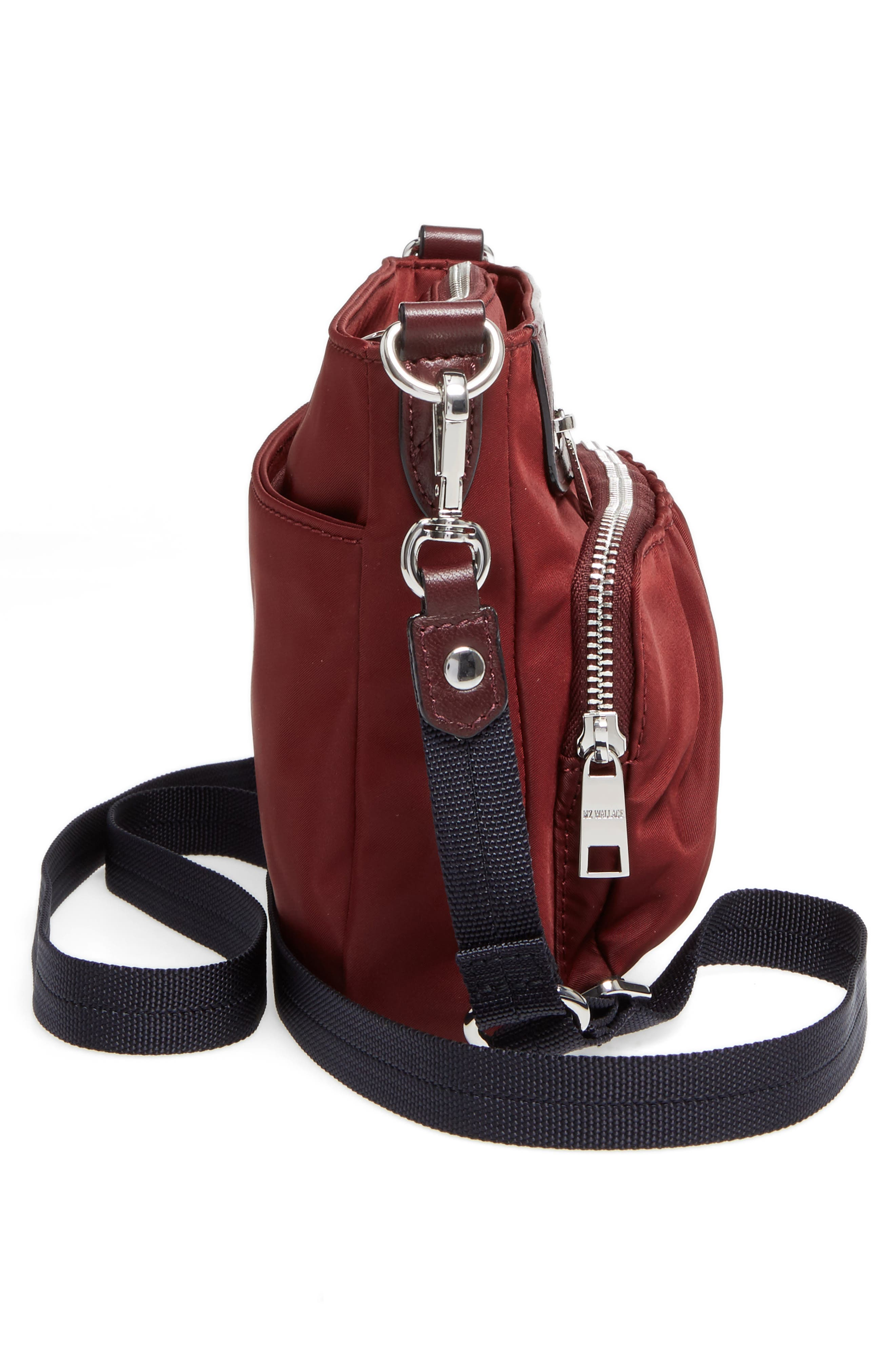 Abbey Bedford Nylon Crossbody Bag,                             Alternate thumbnail 5, color,                             618