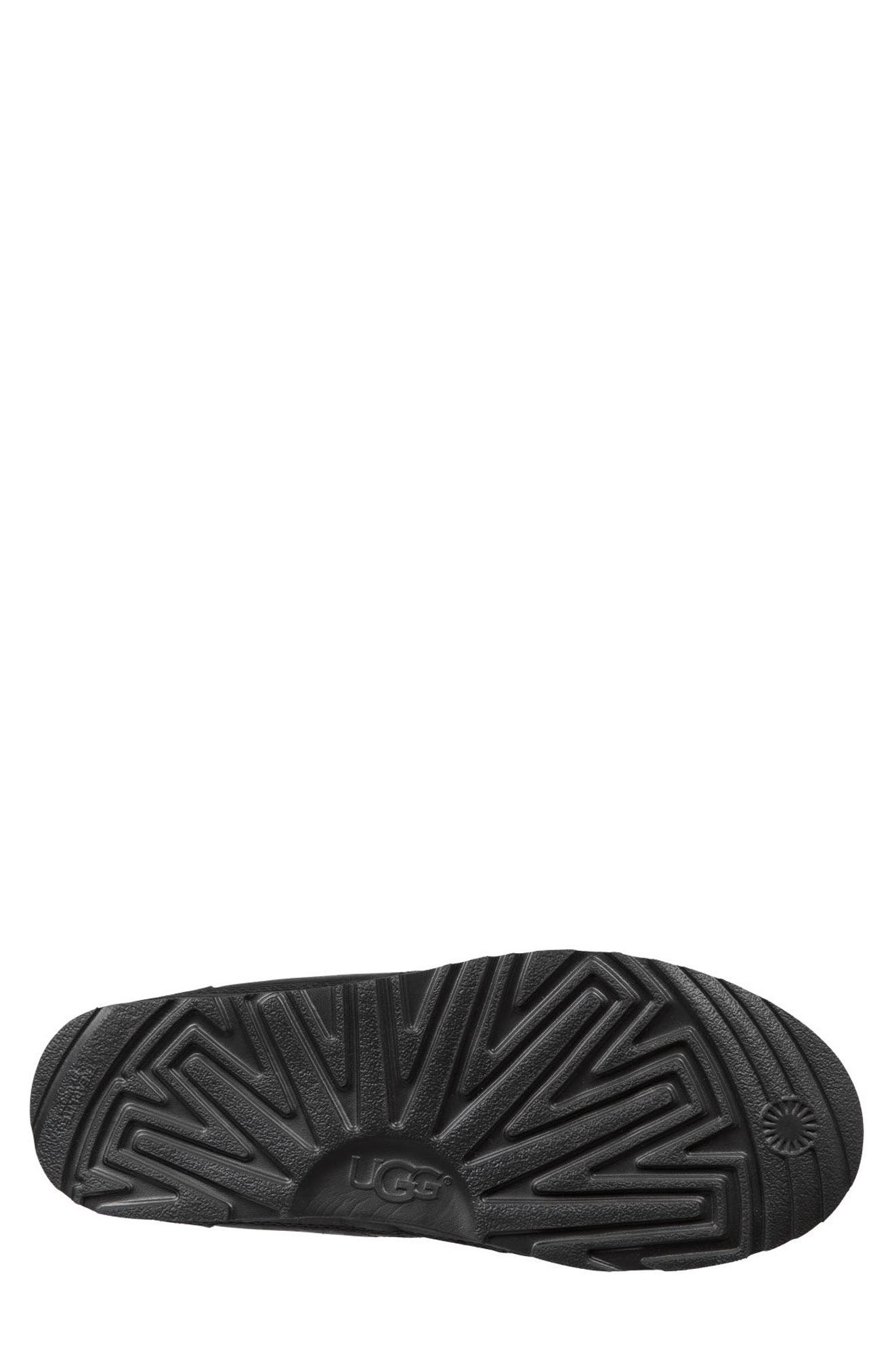 UGG<SUP>®</SUP>,                             Neumel Waterproof Chukka Boot,                             Alternate thumbnail 5, color,                             BLACK
