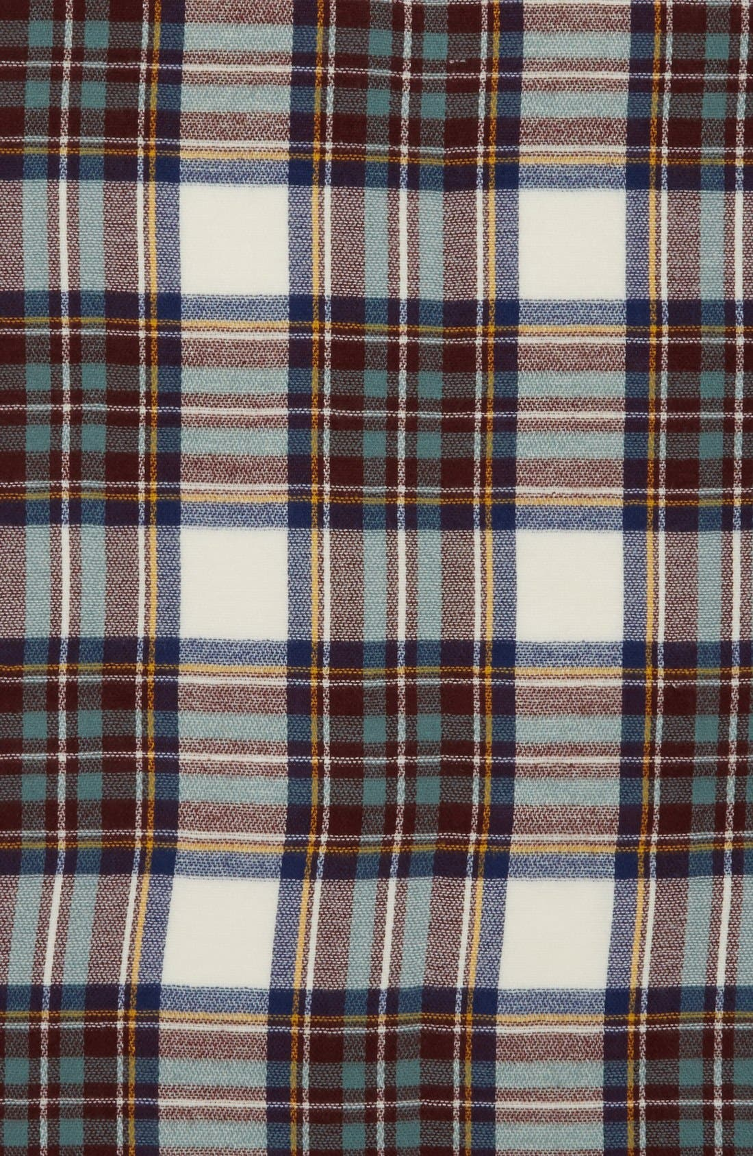 Plaid Blanket Scarf,                             Alternate thumbnail 2, color,                             100