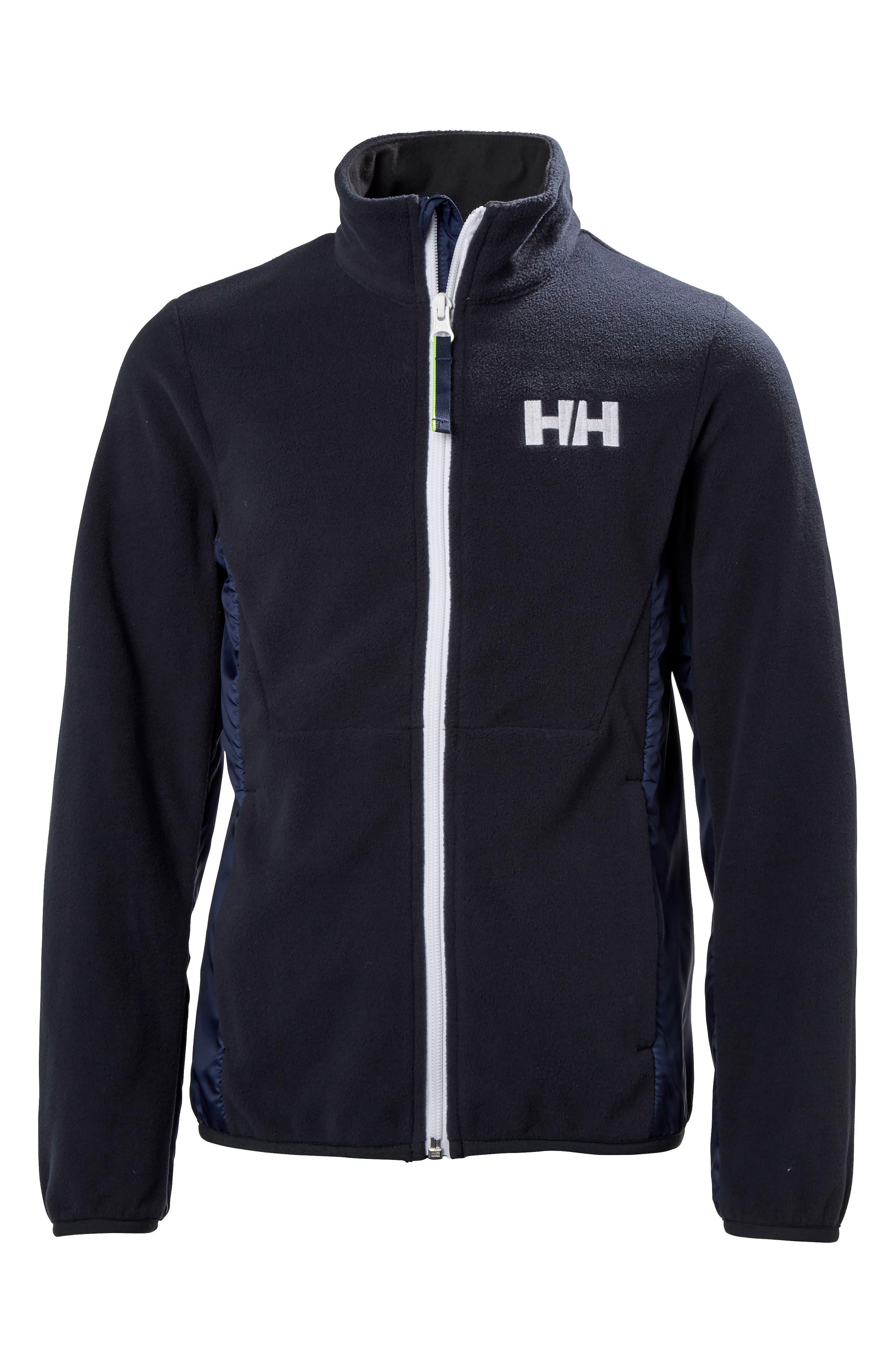 Dynamic Polartec<sup>®</sup> Fleece Jacket,                         Main,                         color, NAVY