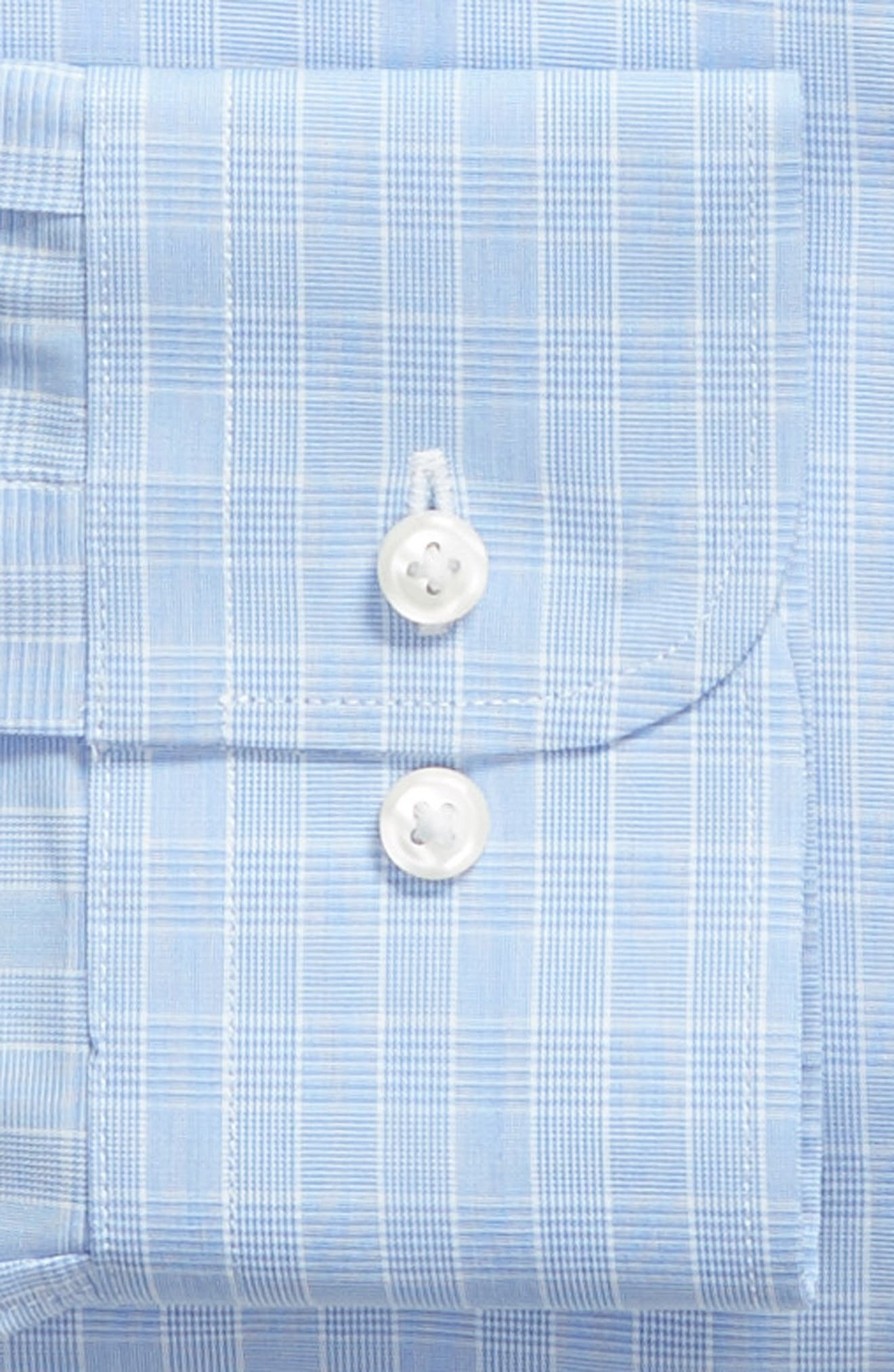 Traditional Fit Dress Shirt,                             Alternate thumbnail 6, color,