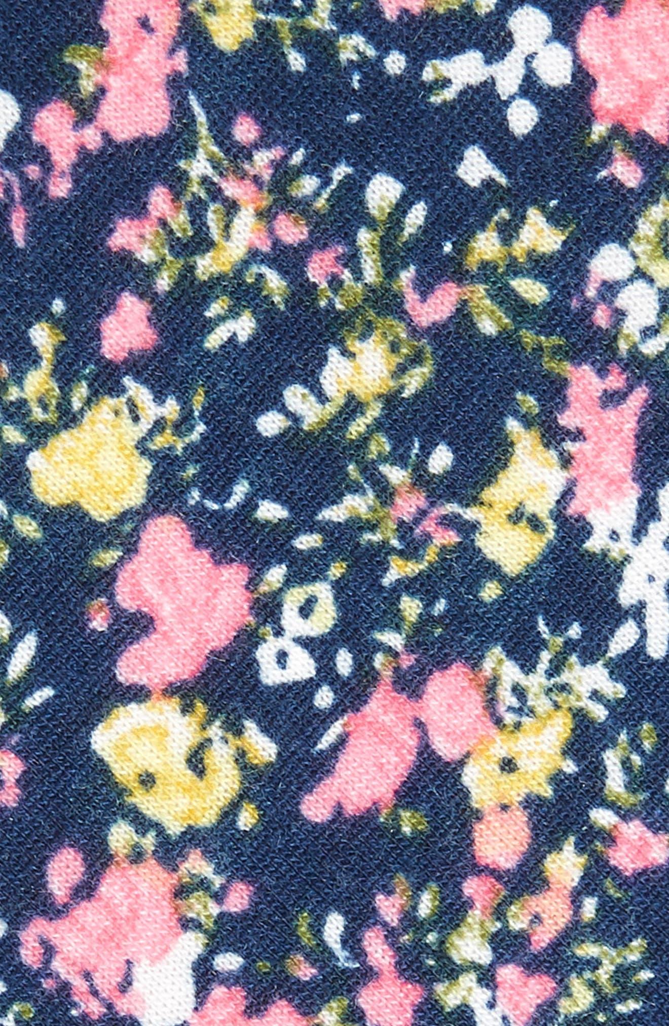 Selwyn Floral Skinny Tie,                             Alternate thumbnail 2, color,                             400