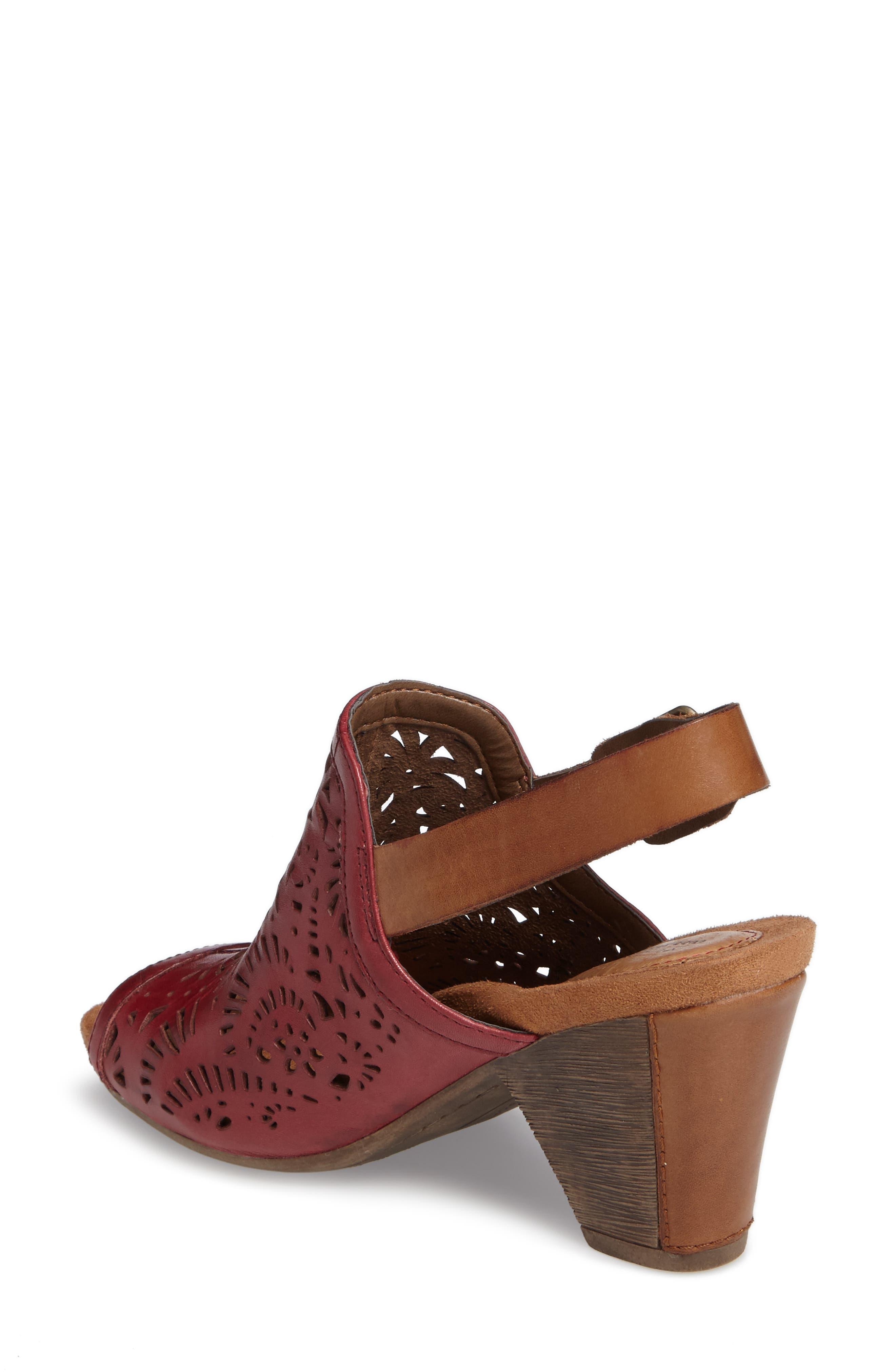 Tropez Block Heel Sandal,                             Alternate thumbnail 8, color,