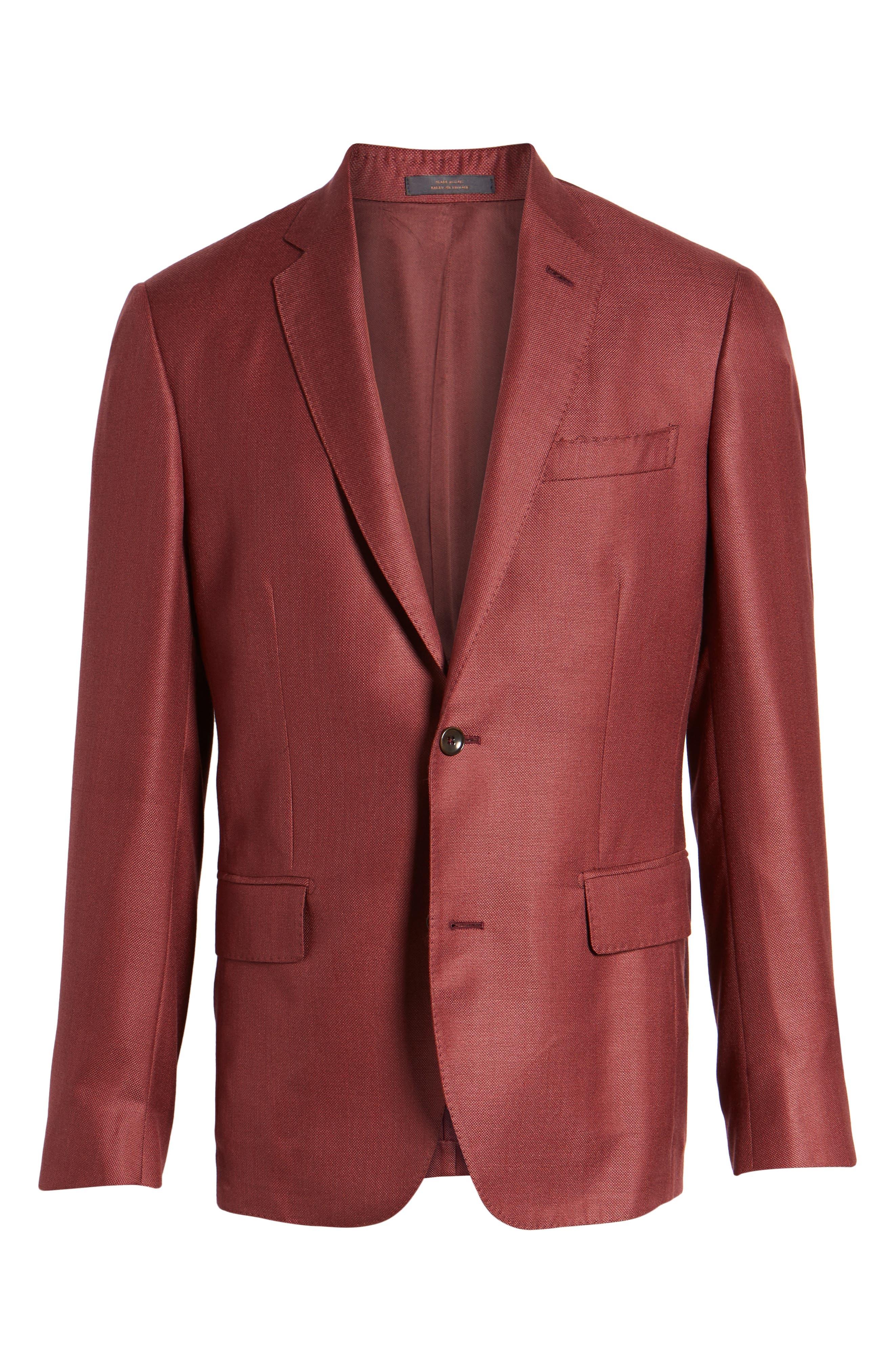 Trim Fit Cashmere & Silk Blazer,                             Alternate thumbnail 20, color,