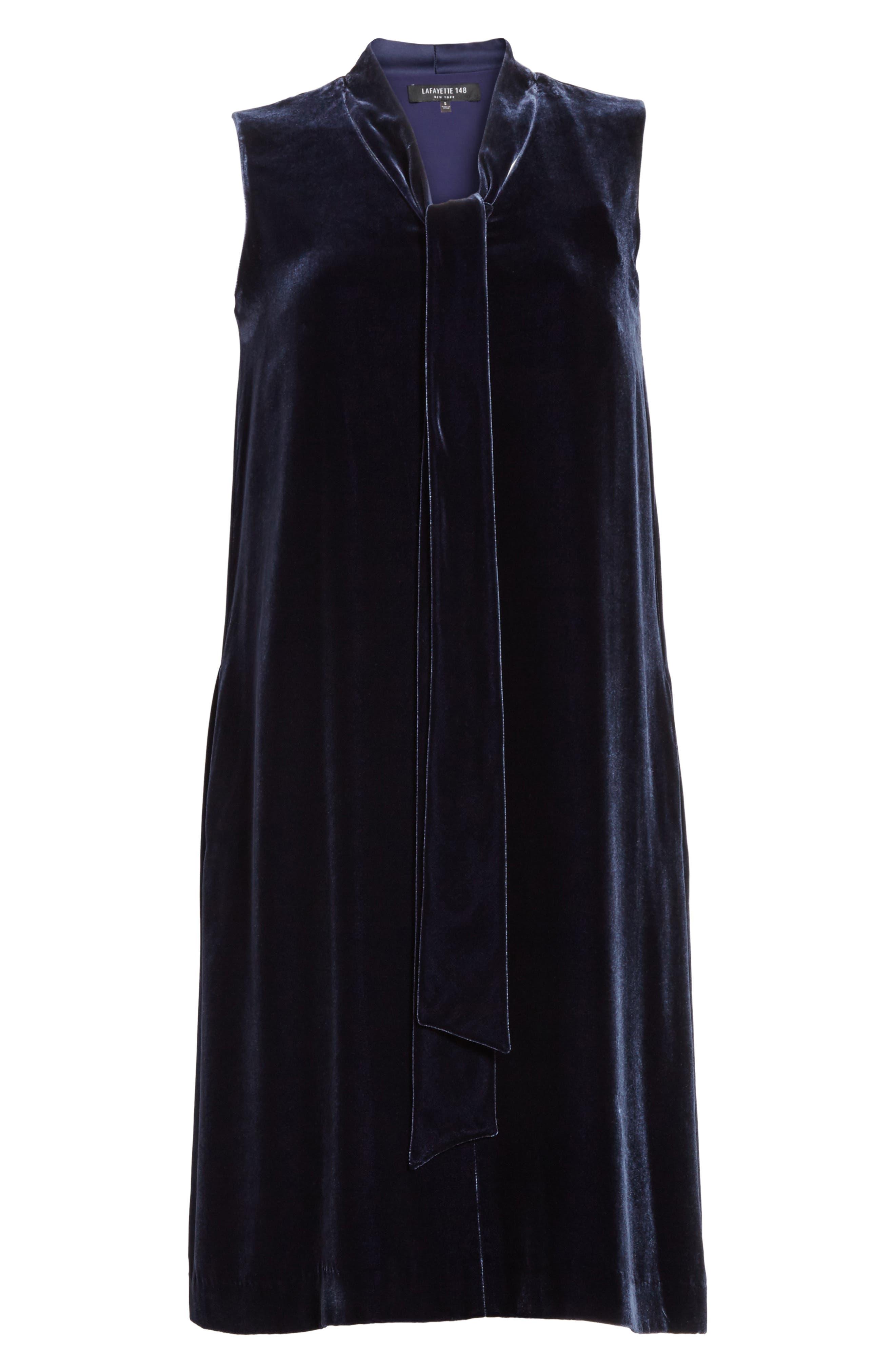 Ronan Velvet Dress,                             Alternate thumbnail 10, color,