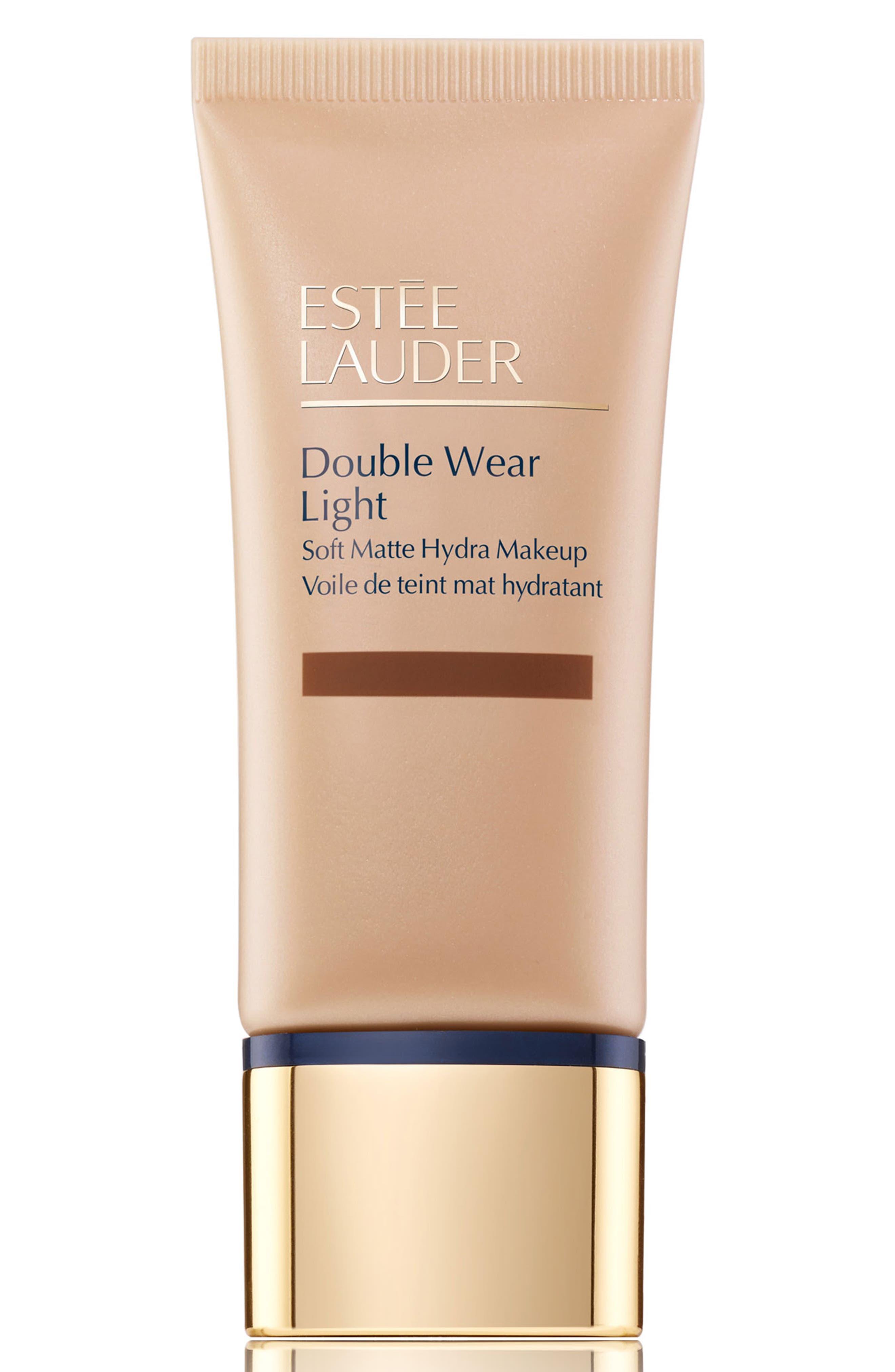 Estee Lauder Double Wear Light Soft Matte Hydra Makeup - 7N1 Deep Amber